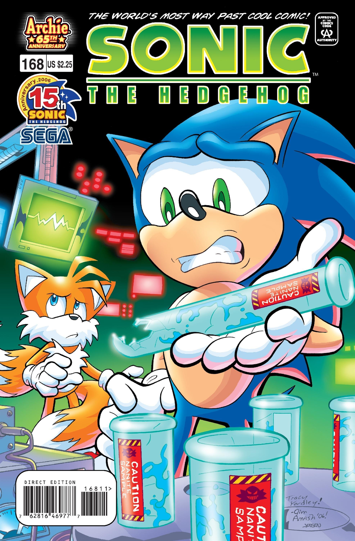 Sonic the Hedgehog 168 (January 2007)