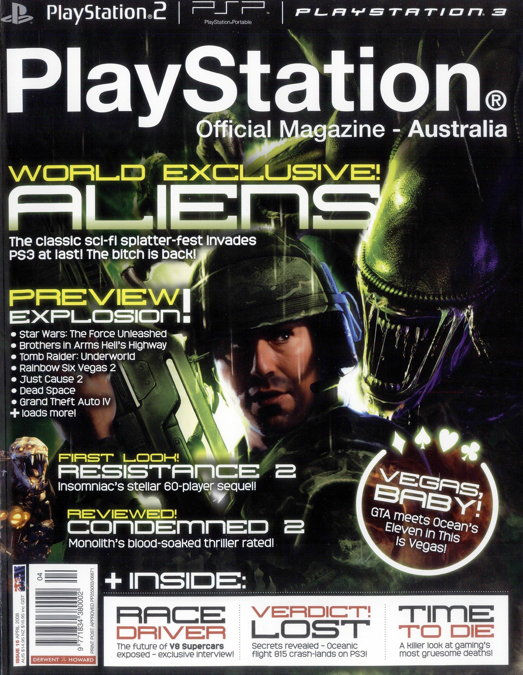 PlayStation Official Magazine Issue 015 (April 2008)