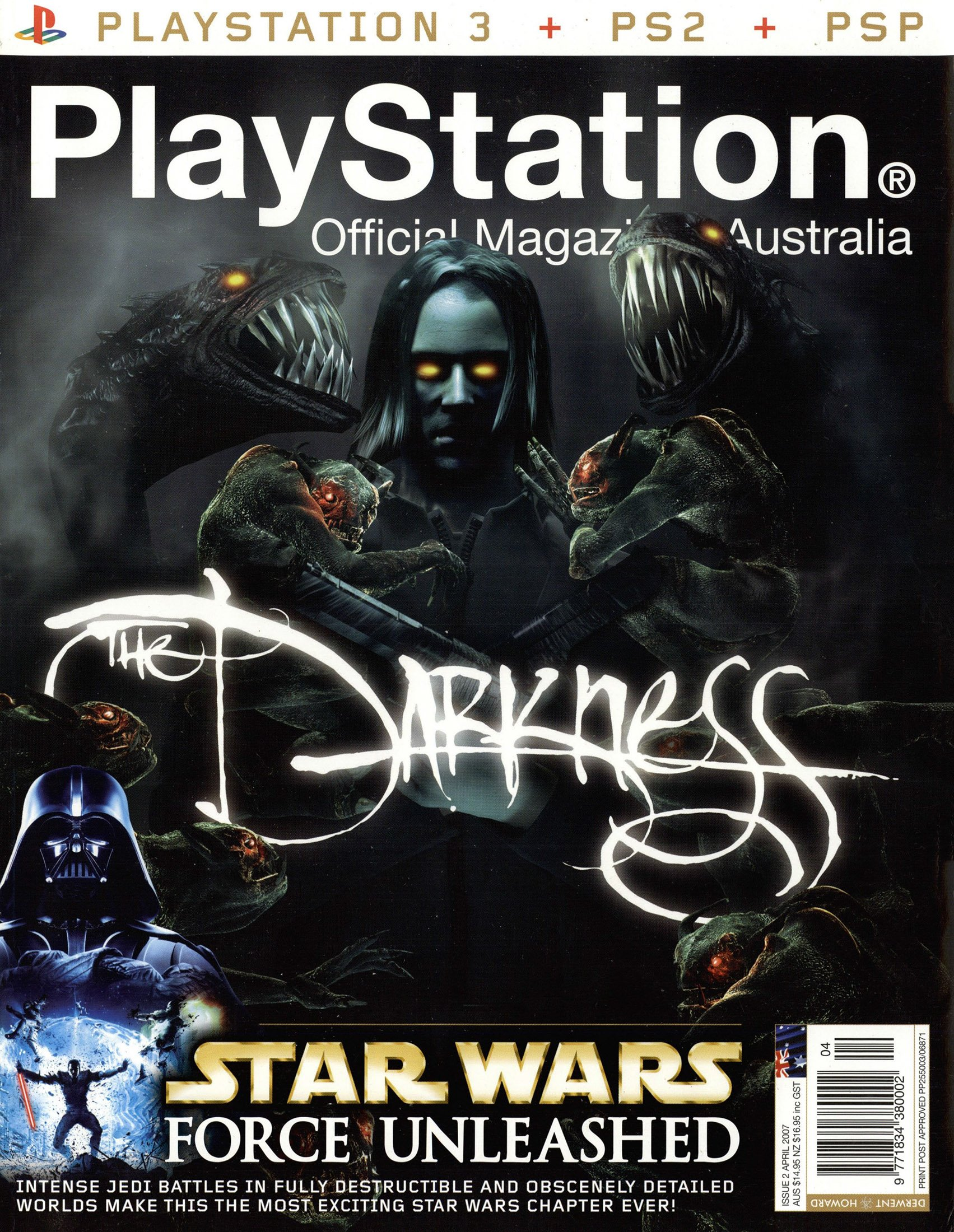 PlayStation Official Magazine Issue 002 (April 2007)