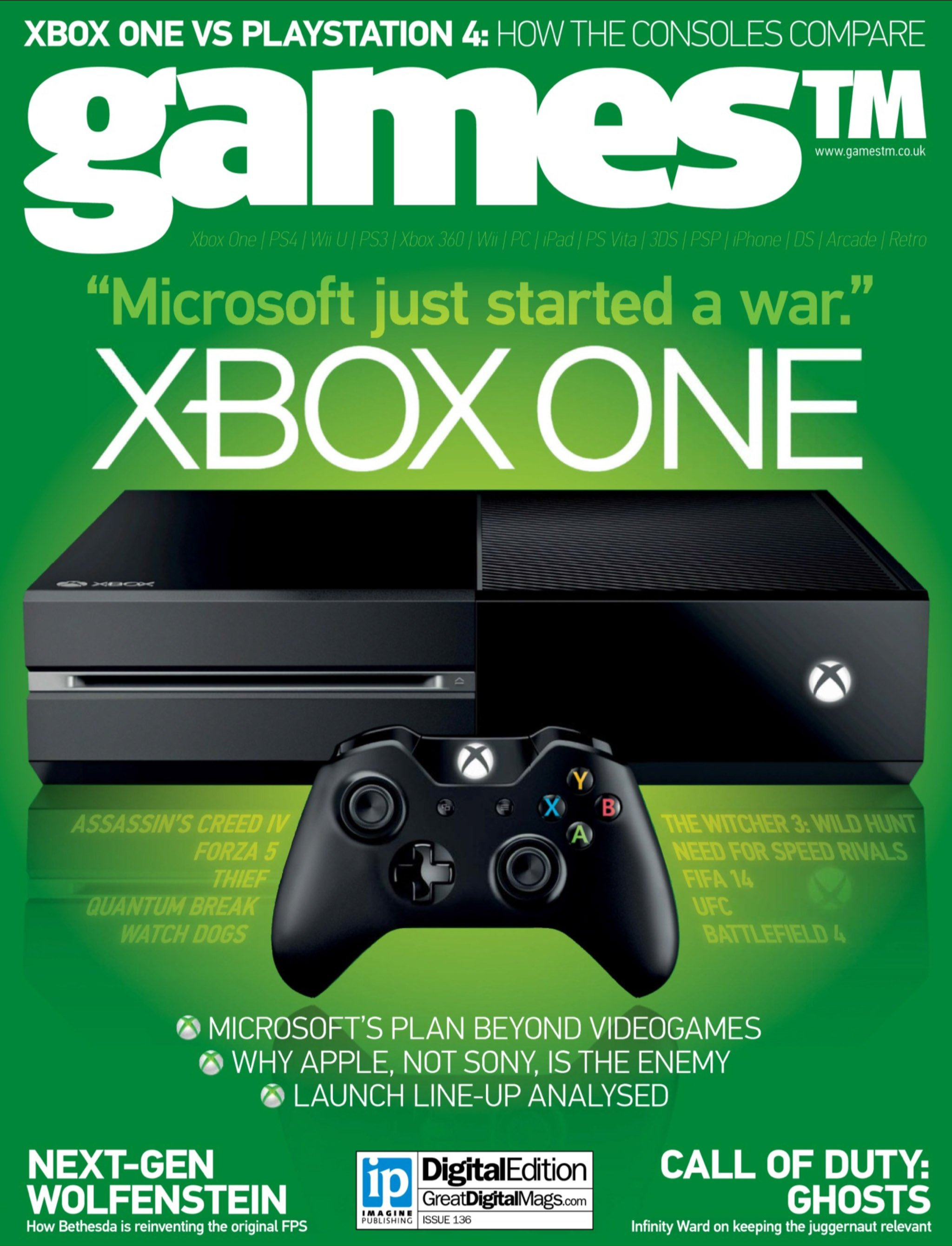 Games TM Issue 136 (June 2013)