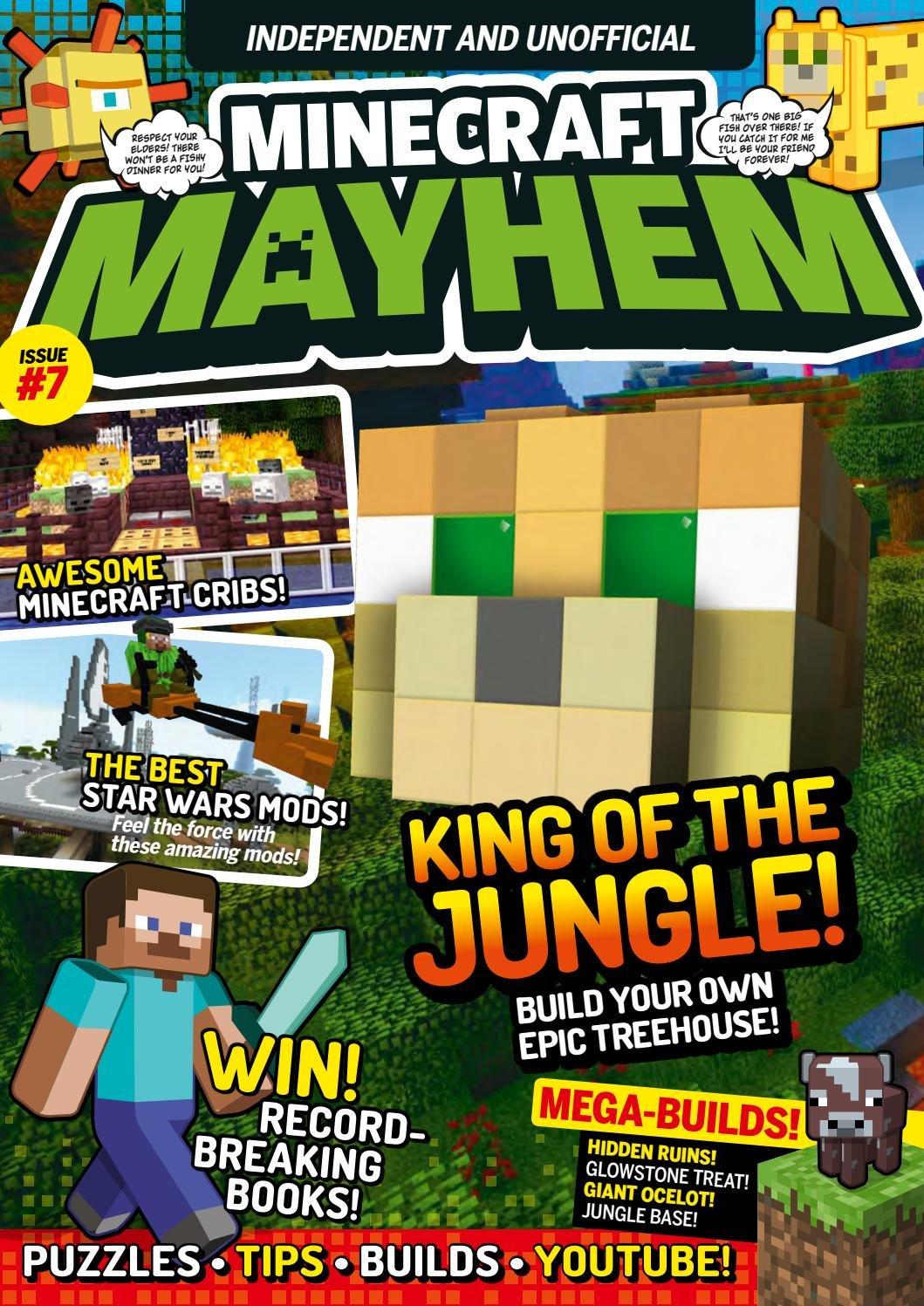 Minecraft Mayhem Issue 07 (November 2016)