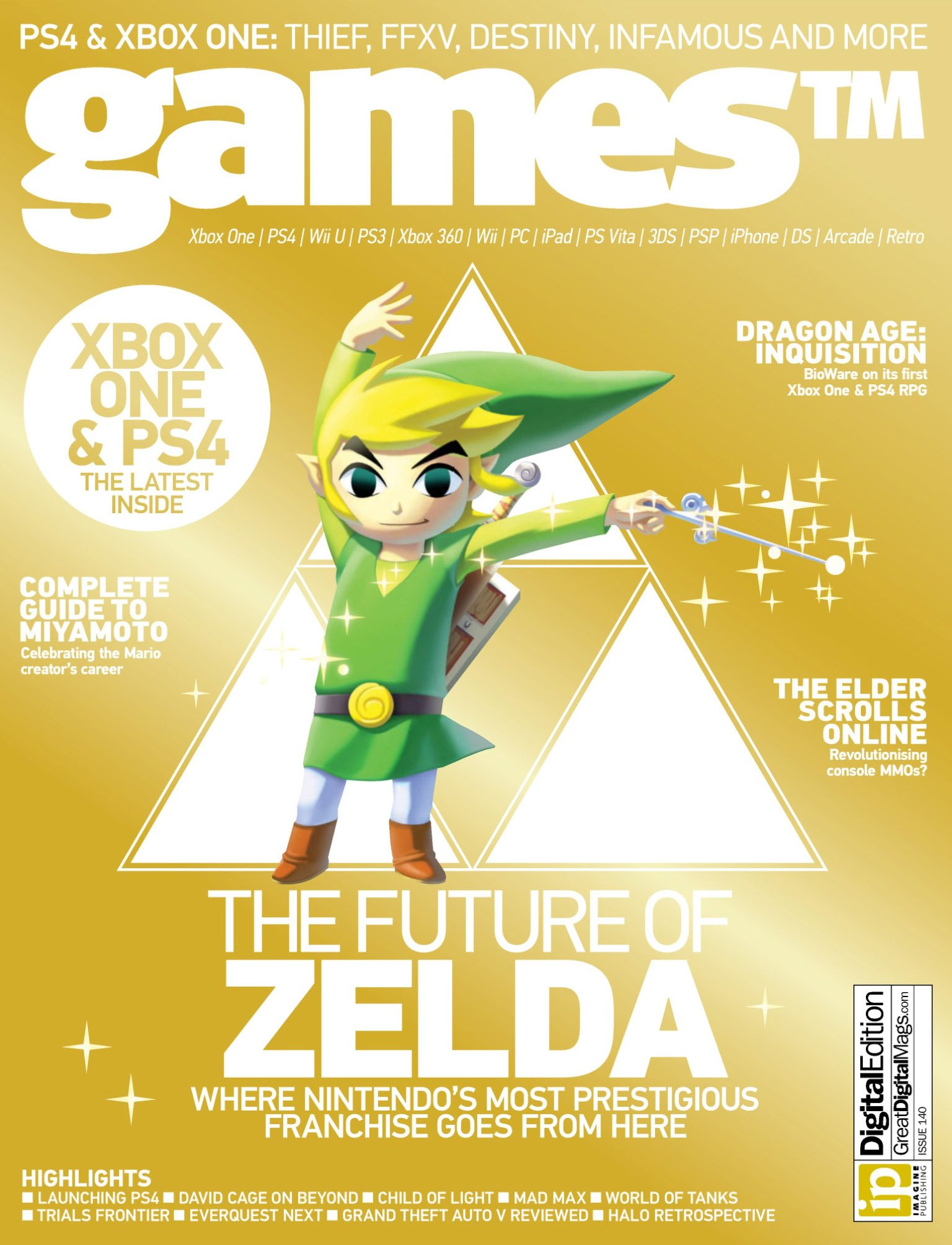 Games TM Issue 140 (October 2013)