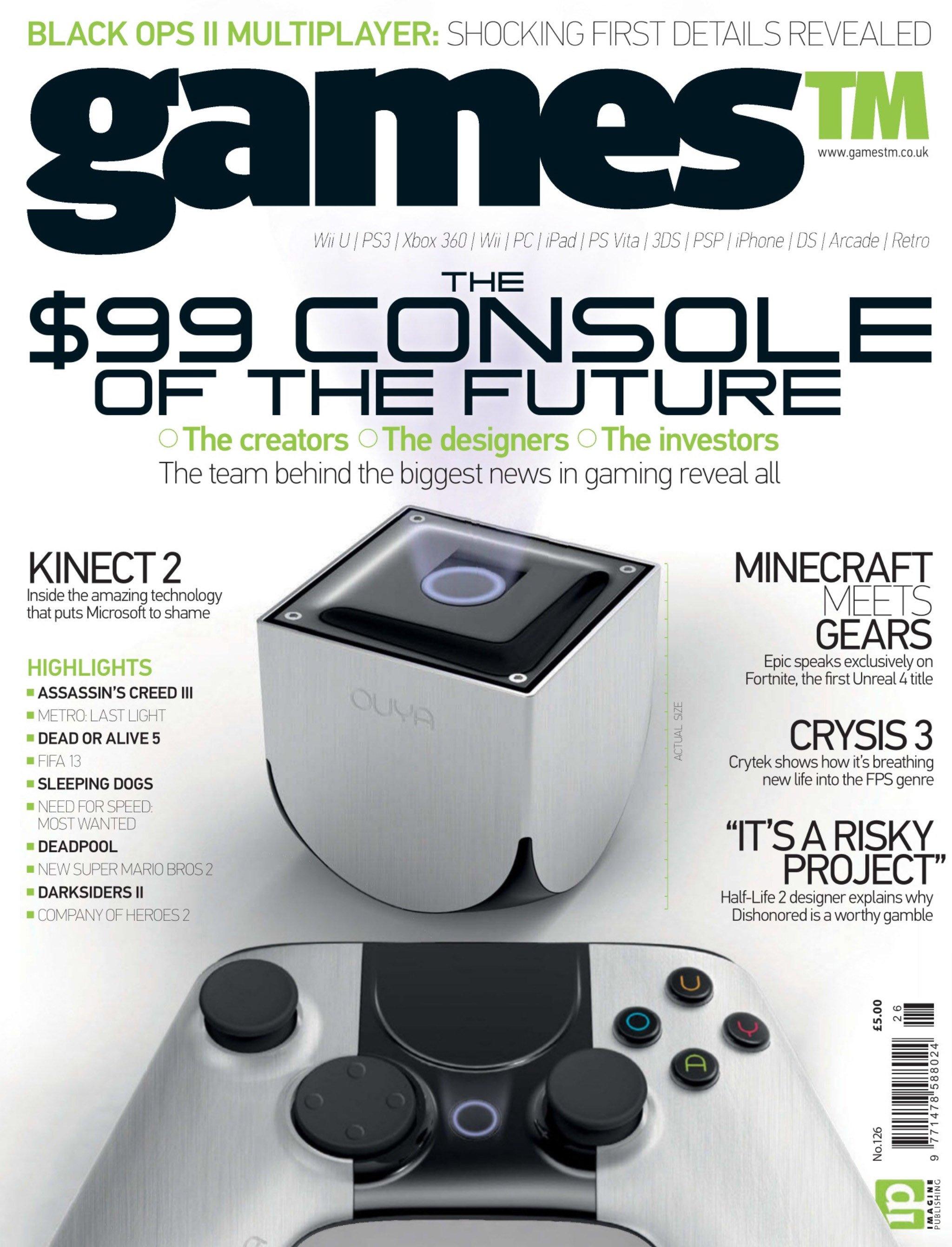 Games TM Issue 126 (September 2012)