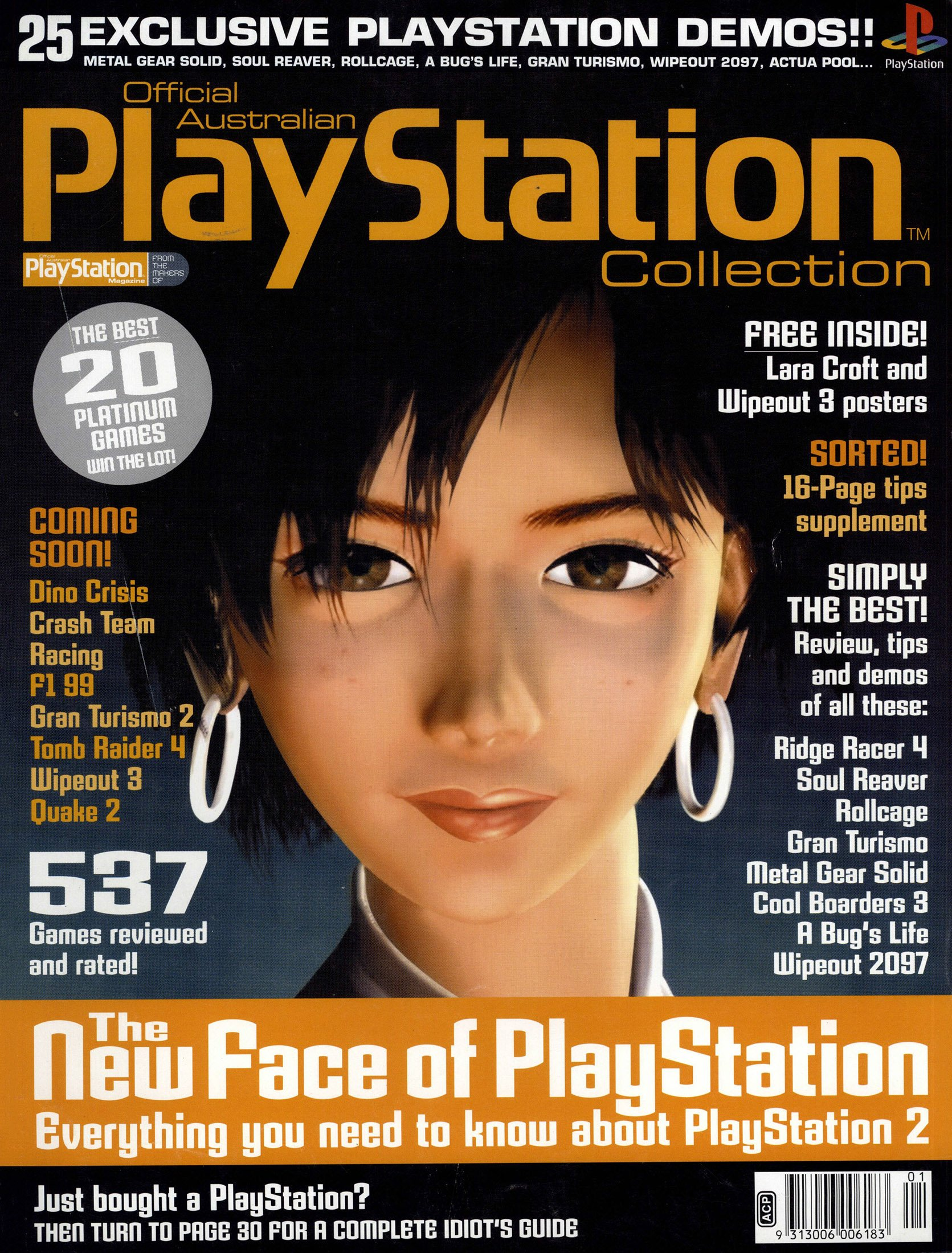 Official Australian PlayStation Magazine Collection (November 1999)