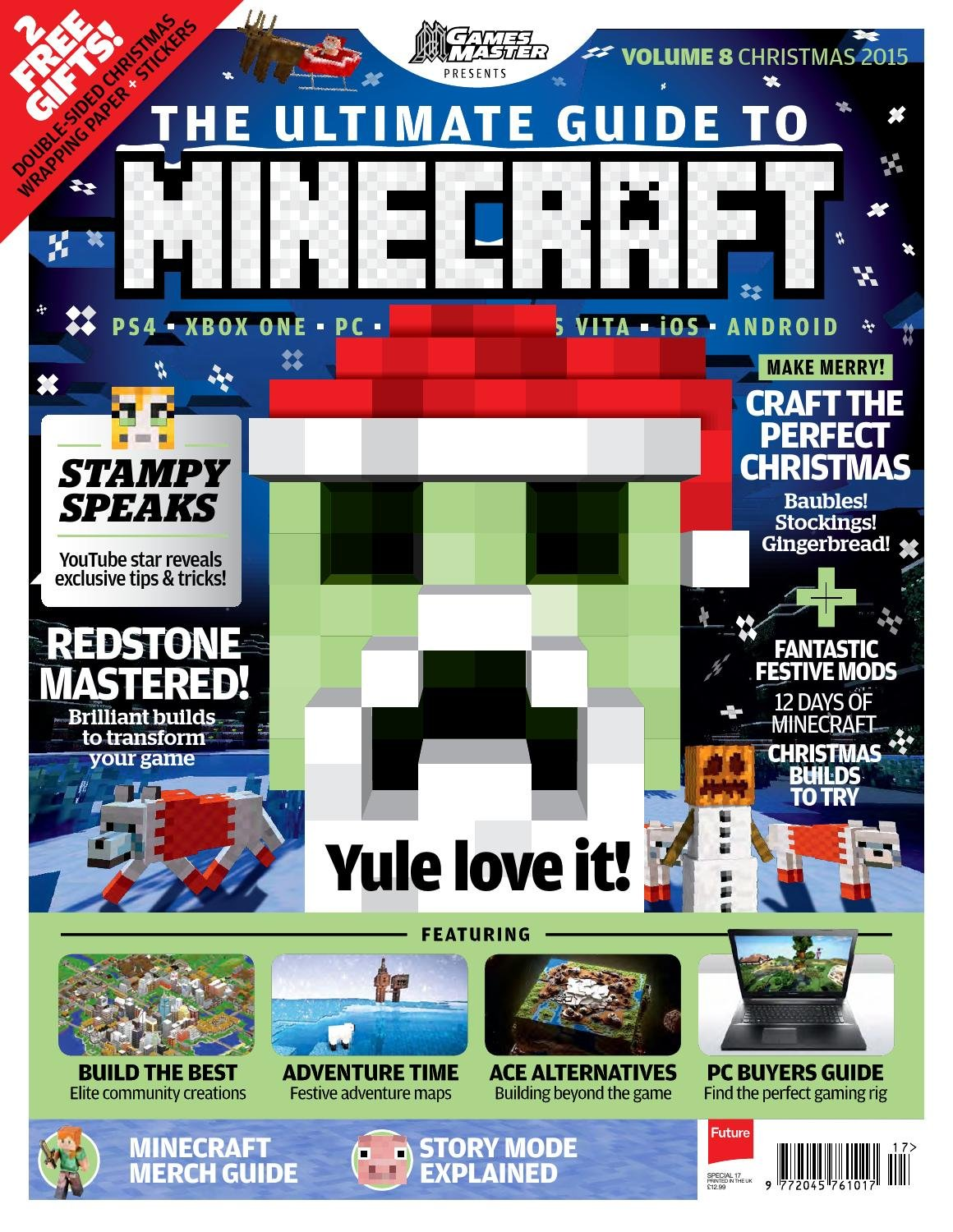 GamesMaster Presents: The Ultimate Guide to Minecraft Vol.08 (Christmas 2015)