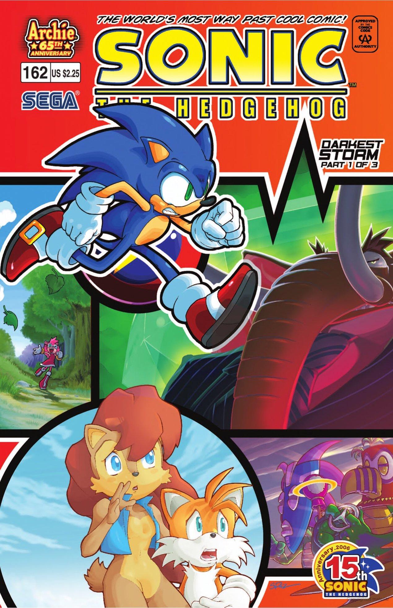 Sonic the Hedgehog 162 (July 2006)