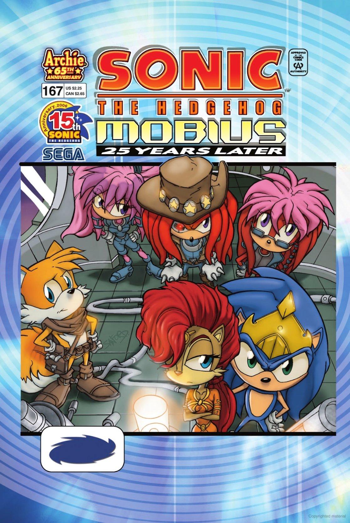 Sonic the Hedgehog 167 (December 2006)