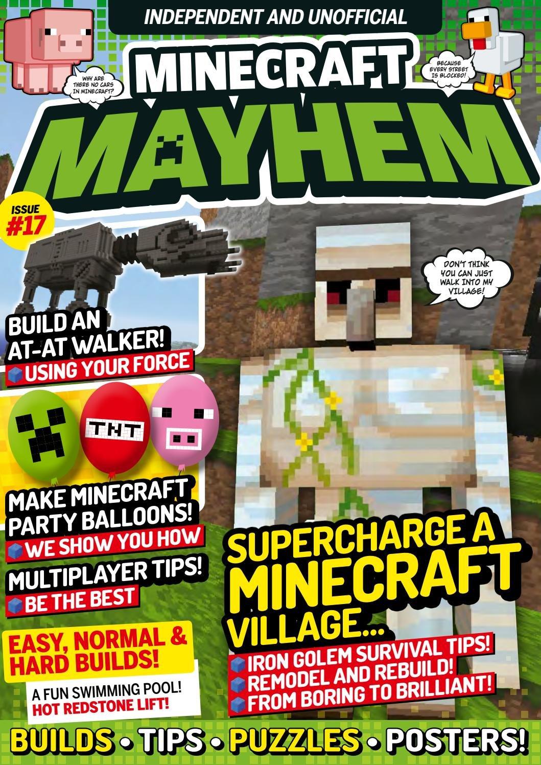 Minecraft Mayhem Issue 17 (August 2017)