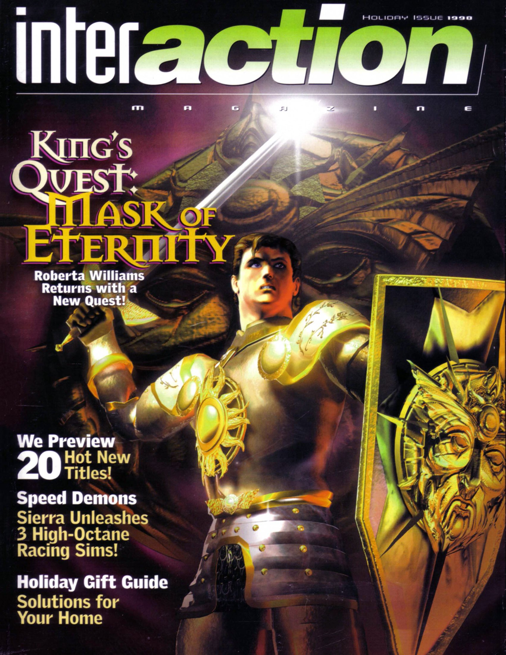 InterAction Issue 37 (Volume 11 Number 4) (Holiday 1998)