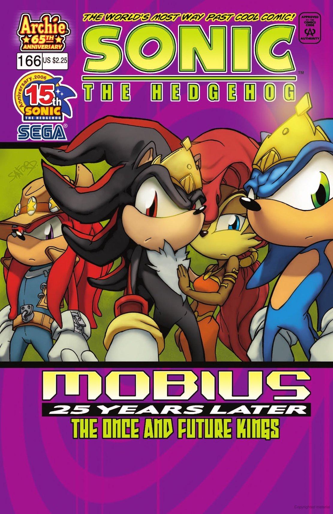 Sonic the Hedgehog 166 (November 2006)
