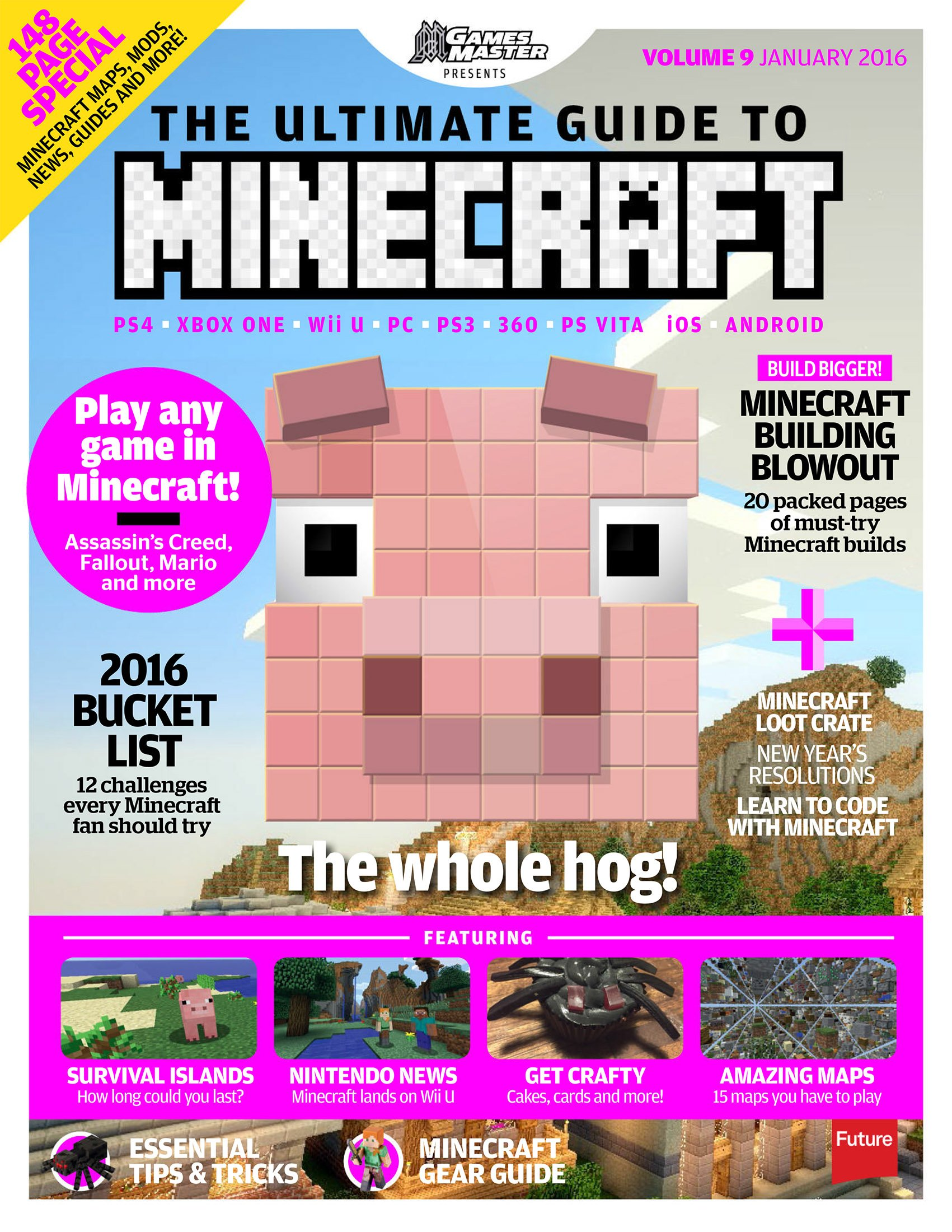GamesMaster Presents: The Ultimate Guide to Minecraft Vol.09 (January 2016)