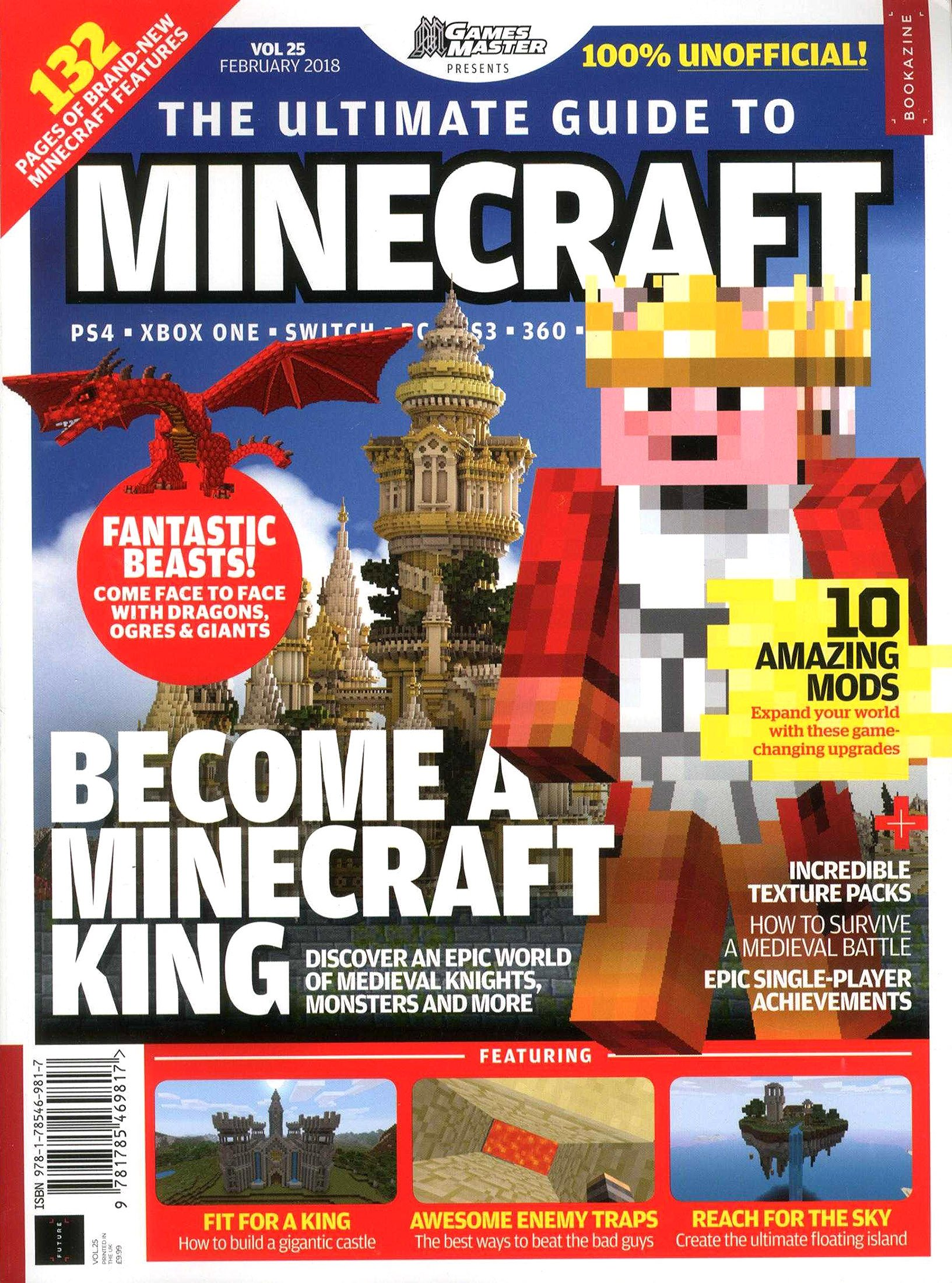 GamesMaster Presents: The Ultimate Guide to Minecraft Vol.25 (February 2018)