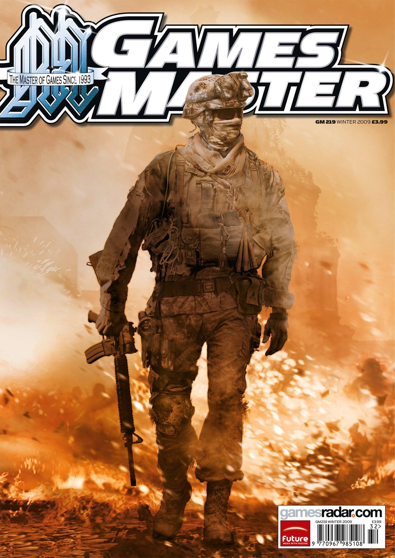 GamesMaster Issue 219 (Winter 2009)
