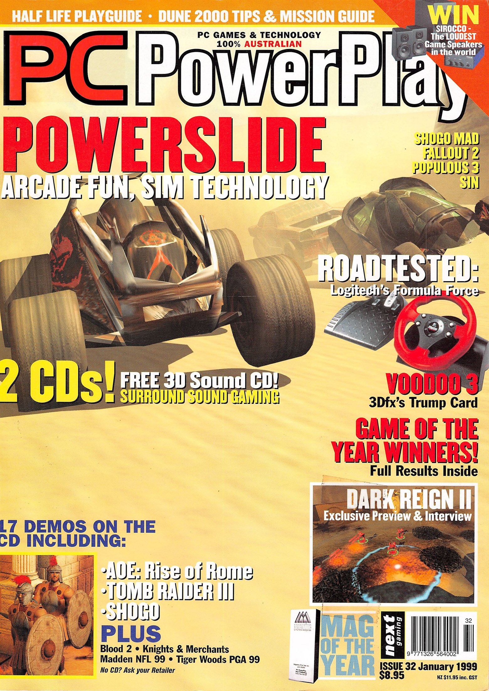 PC PowerPlay 032 (January 1999)