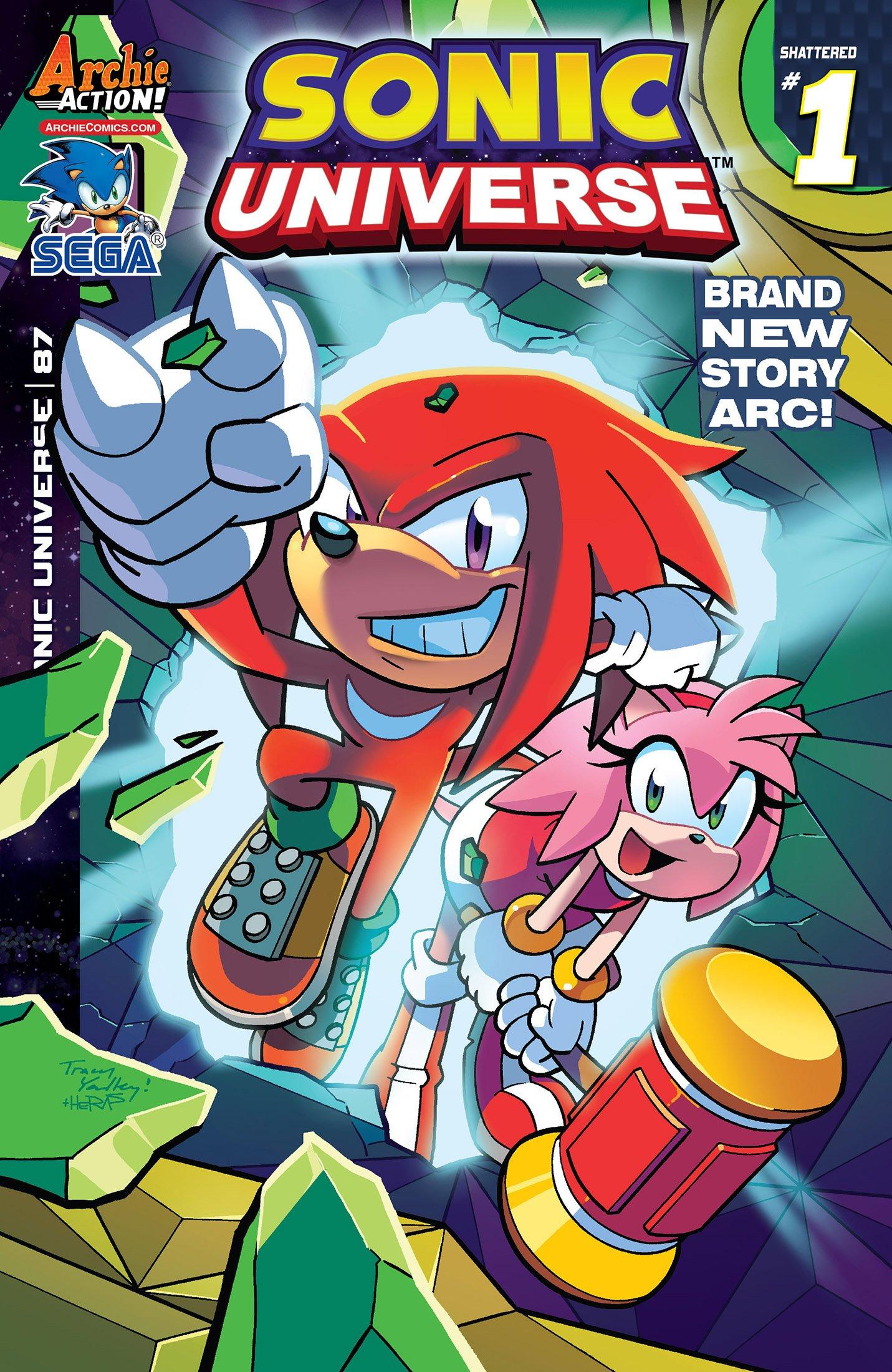 Sonic Universe 087 (September 2016)
