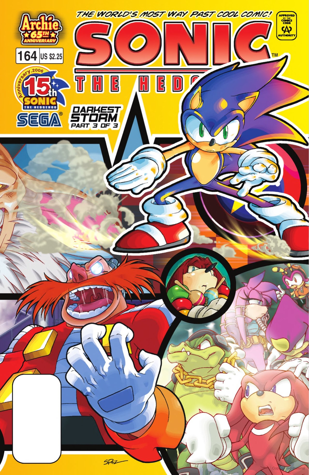 Sonic the Hedgehog 164 (September 2006)