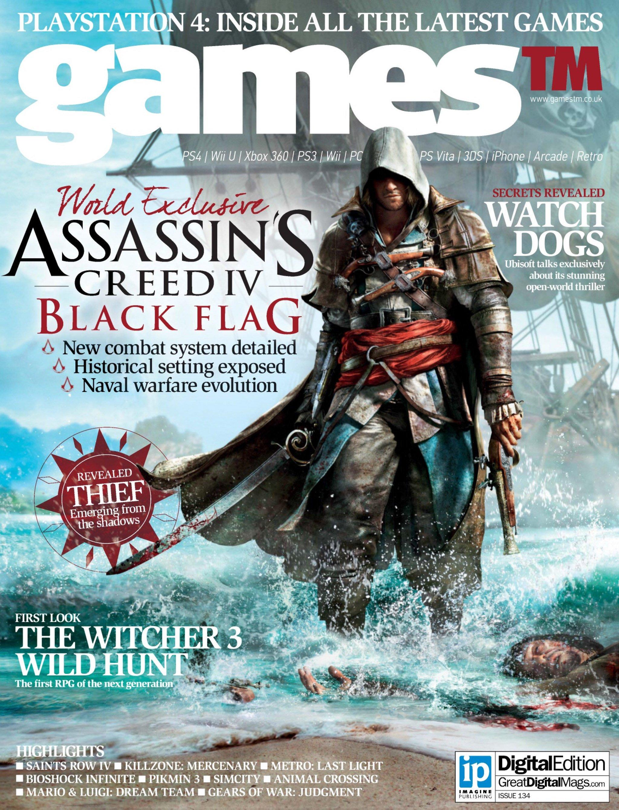 Games TM Issue 134 (April 2013)