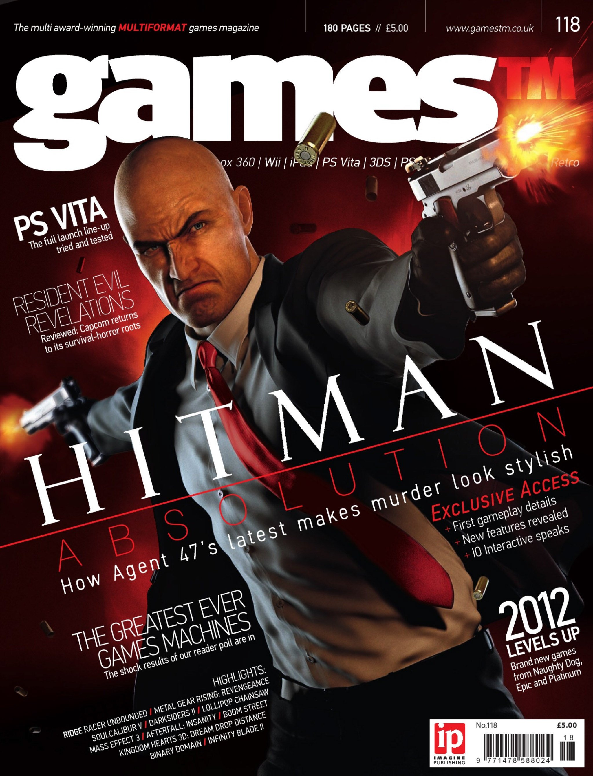 Games TM Issue 118 (January 2012)