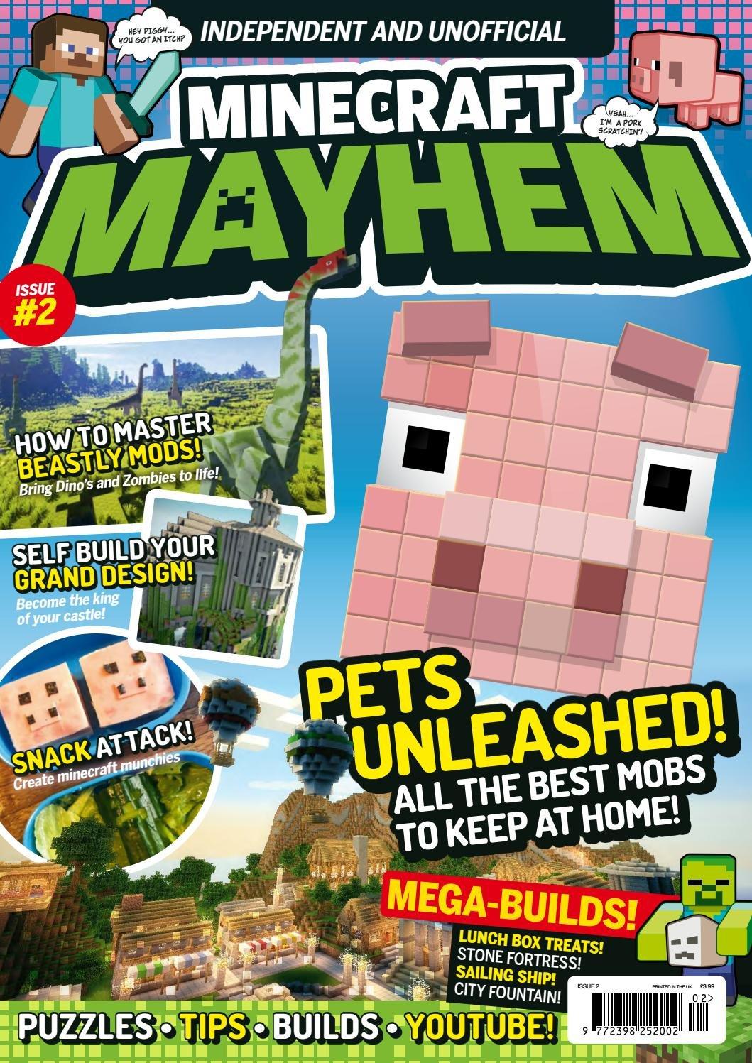 Minecraft Mayhem Issue 02 (June 2016)