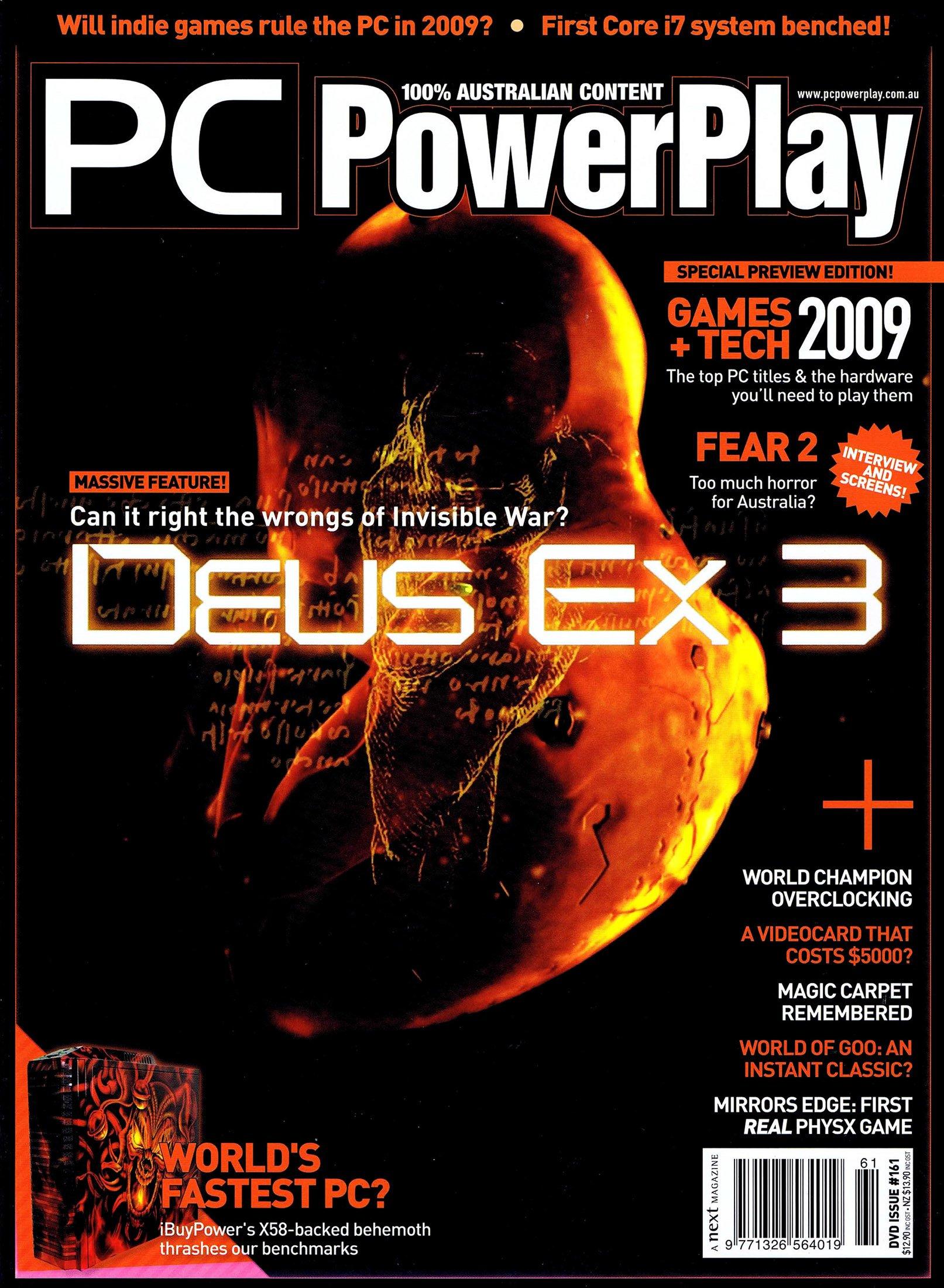 PC PowerPlay 161 (February 2009)