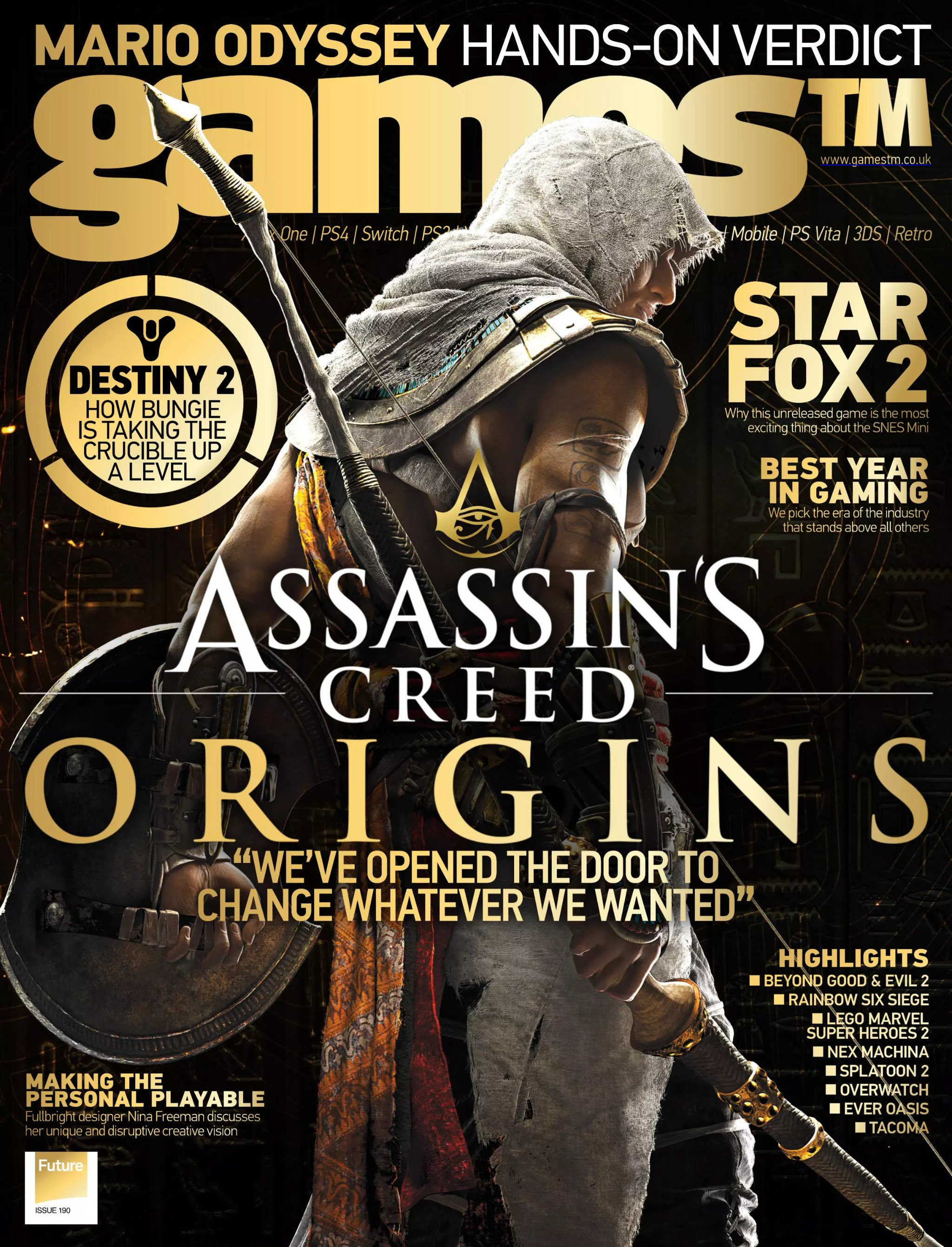 Games TM Issue 190 (August 2017)