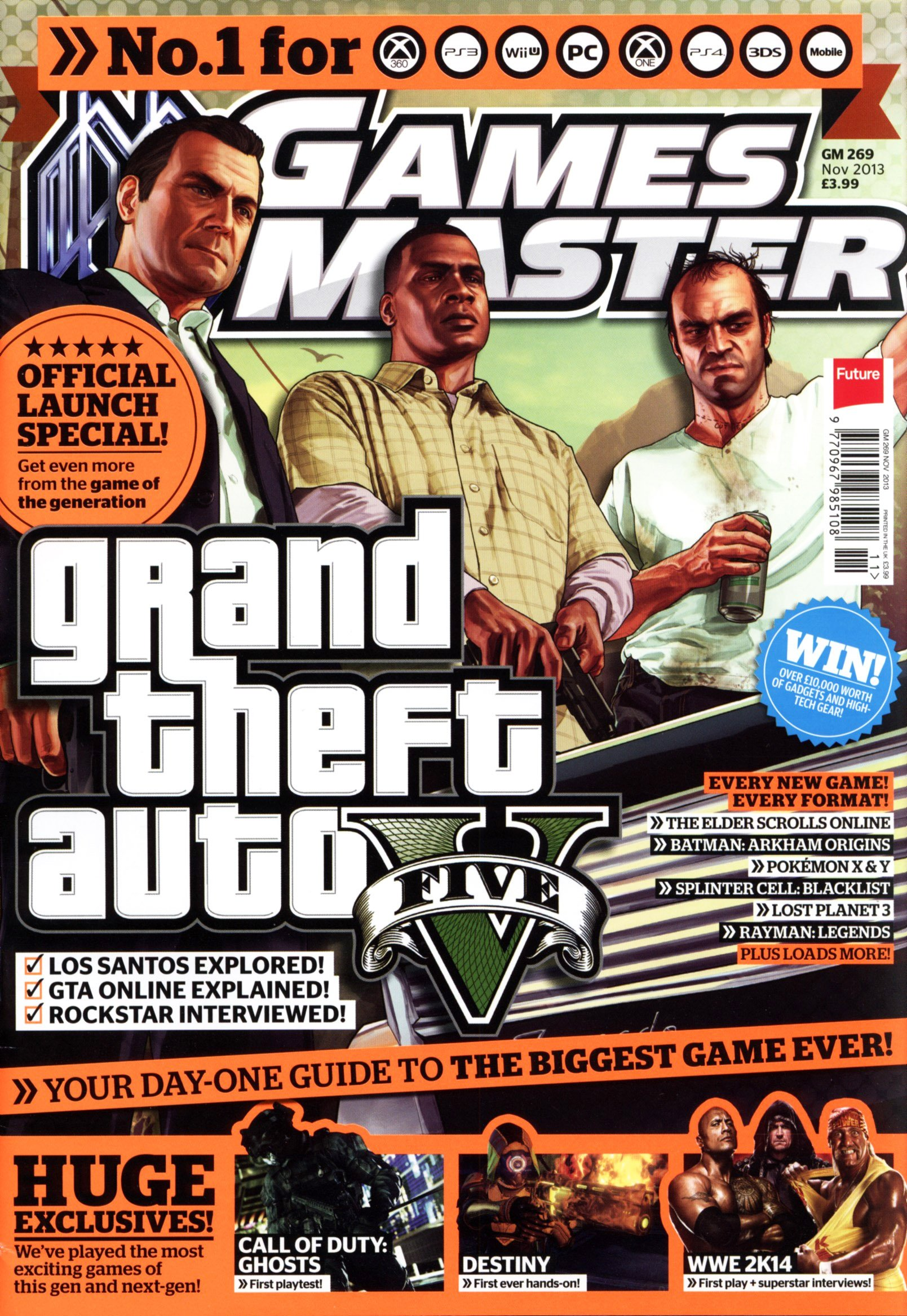 GamesMaster Issue 269 (November 2013) (print edition)