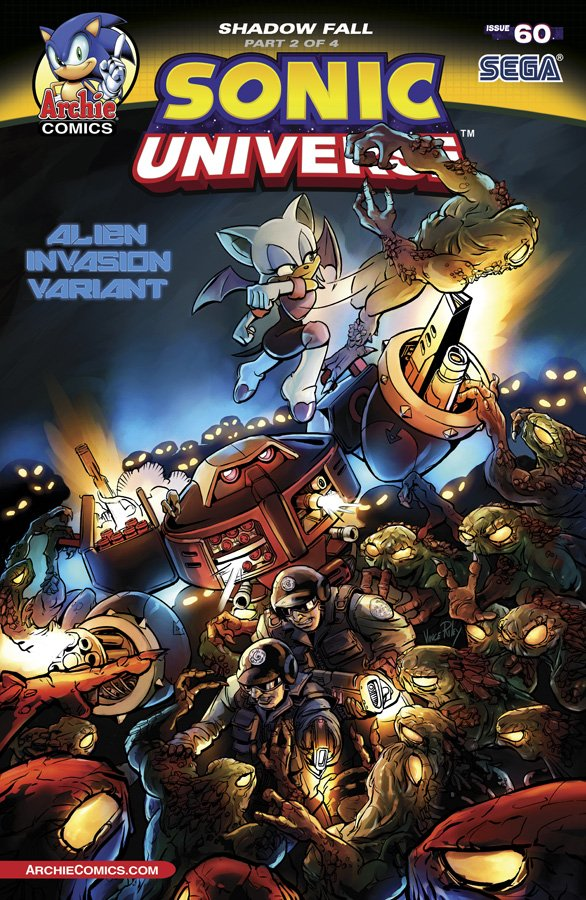 Sonic Universe 060 (March 2014) (variant edition)