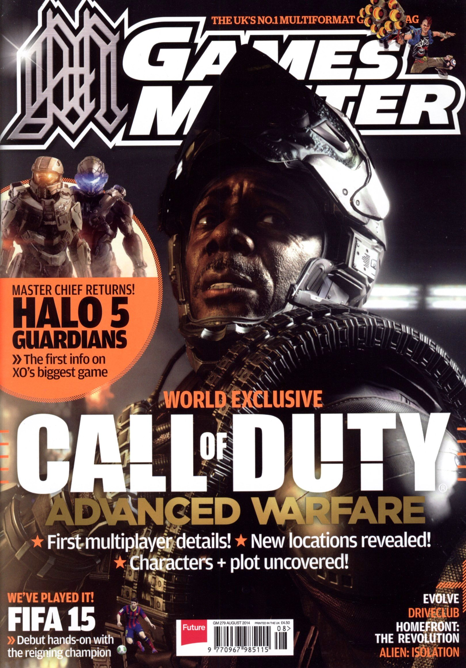 GamesMaster Issue 279 (August 2014) (print edition)