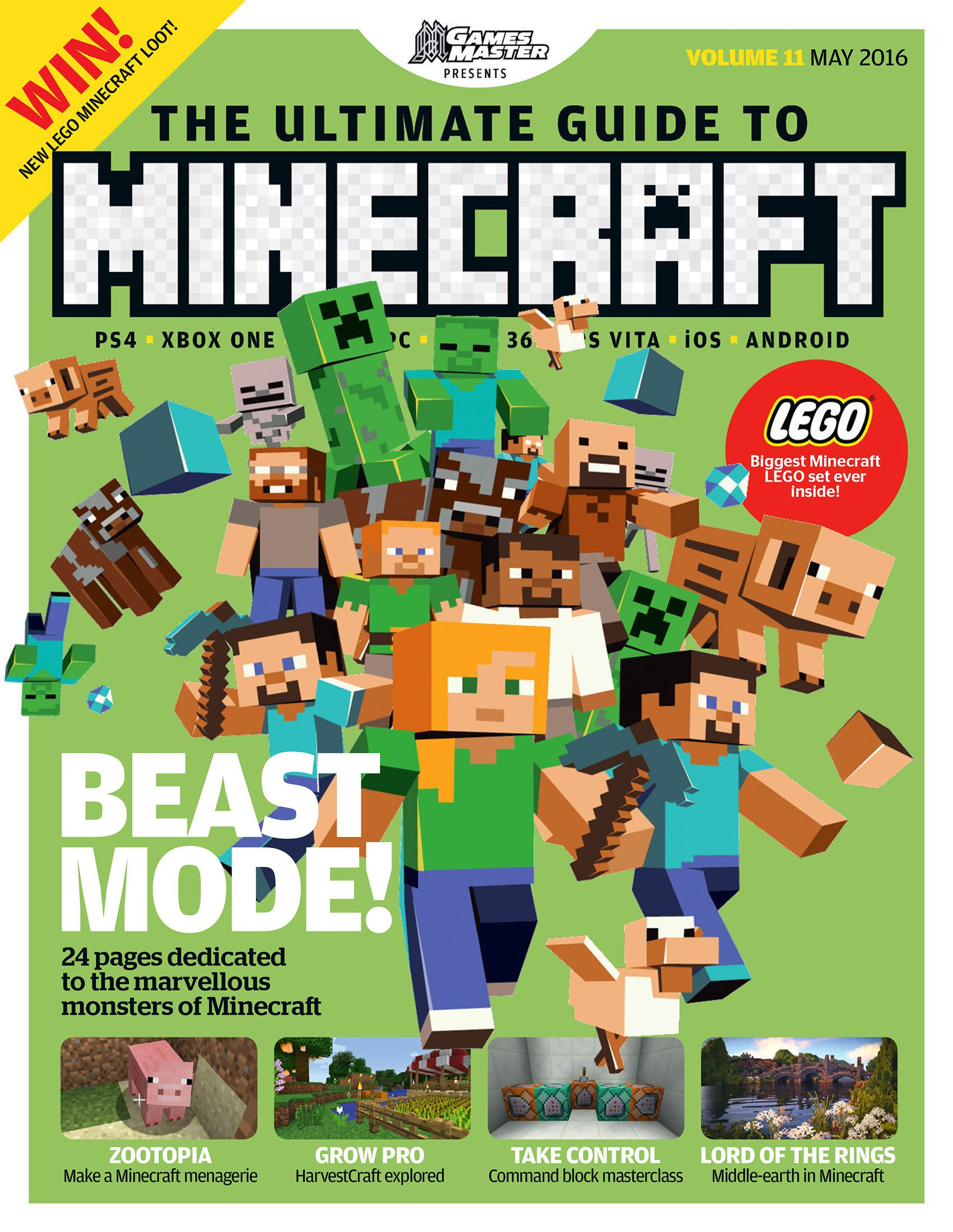 GamesMaster Presents: The Ultimate Guide to Minecraft Vol.11 (May 2016)