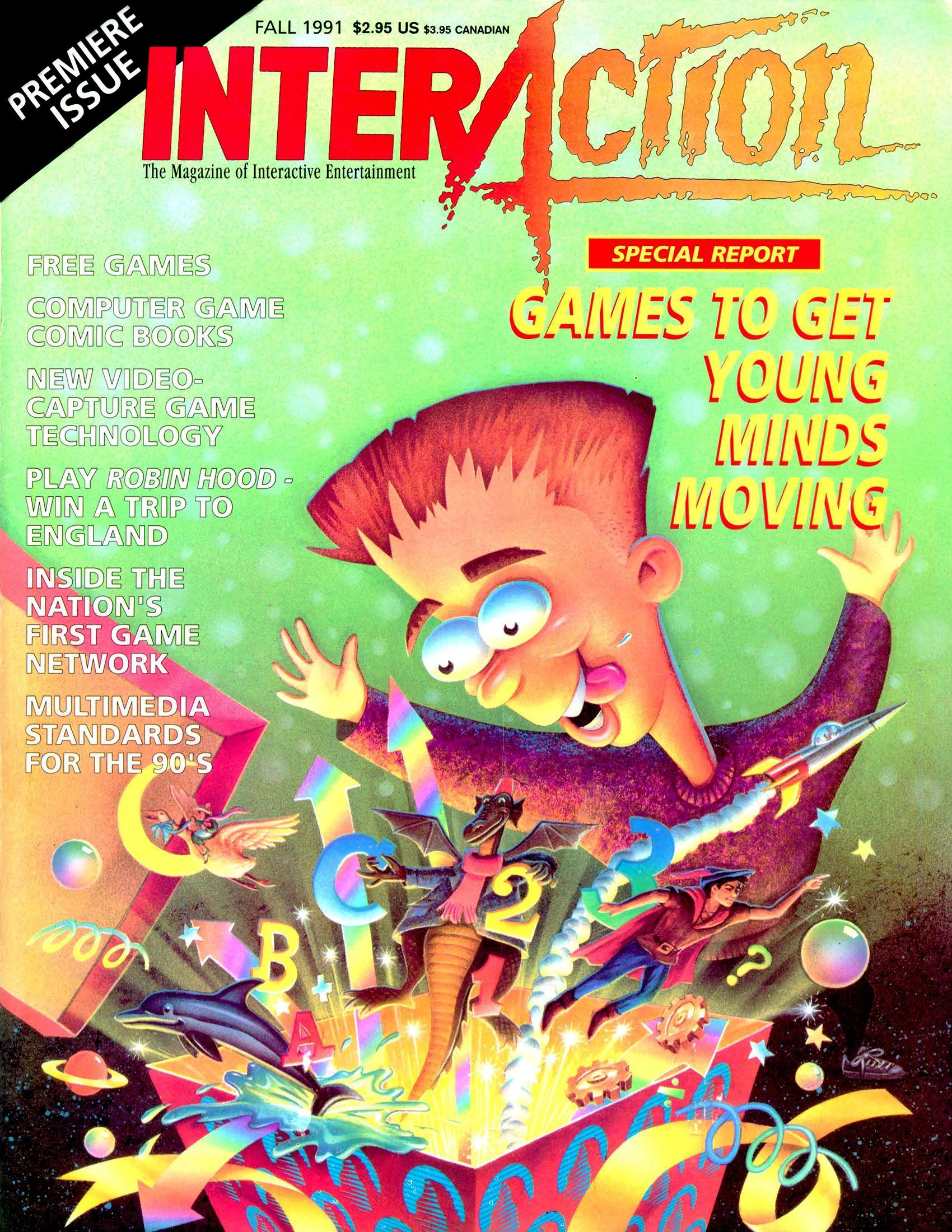 InterAction Issue 12 (Volume 4 Number 3) Fall 1991