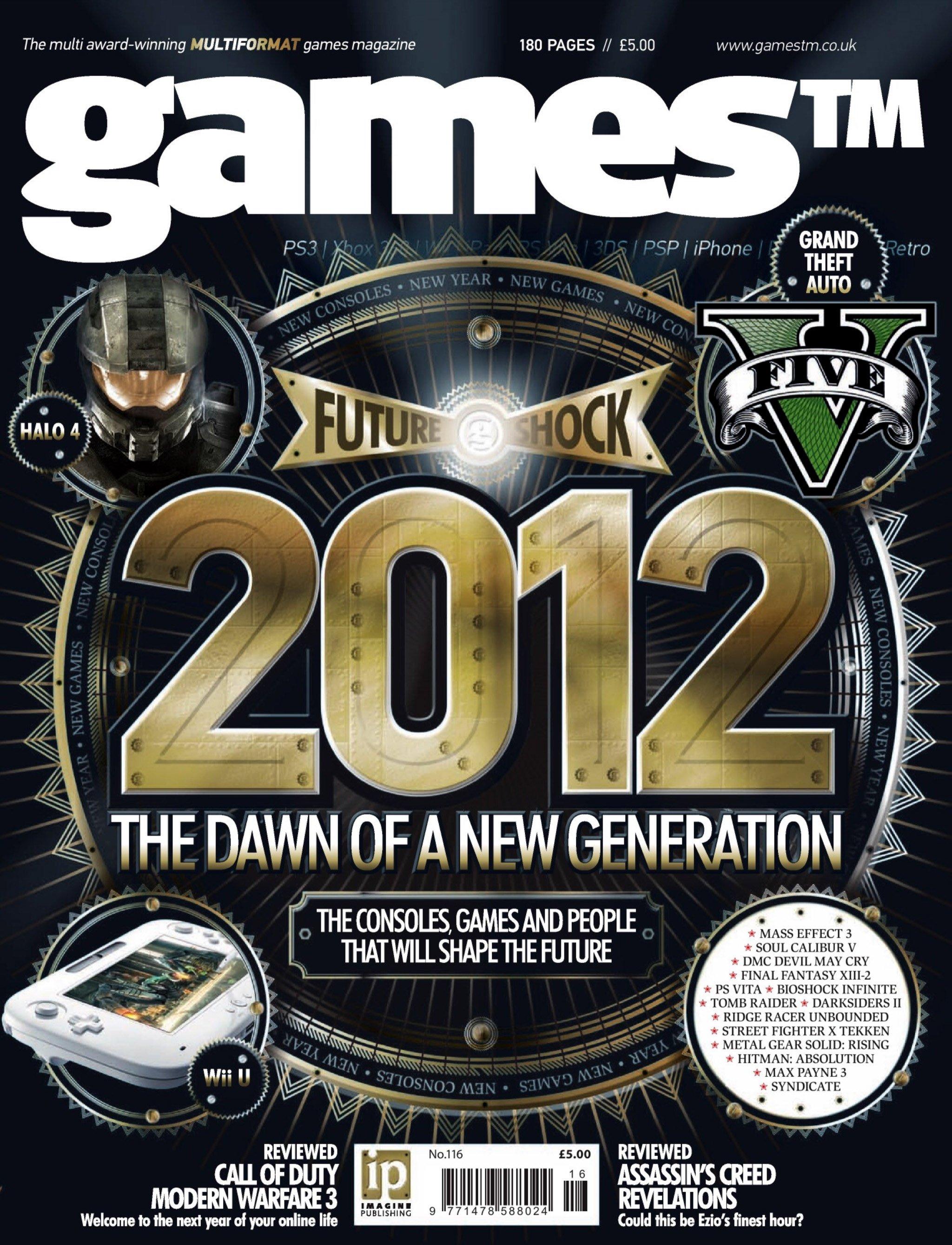 Games TM Issue 116 (December 2011)