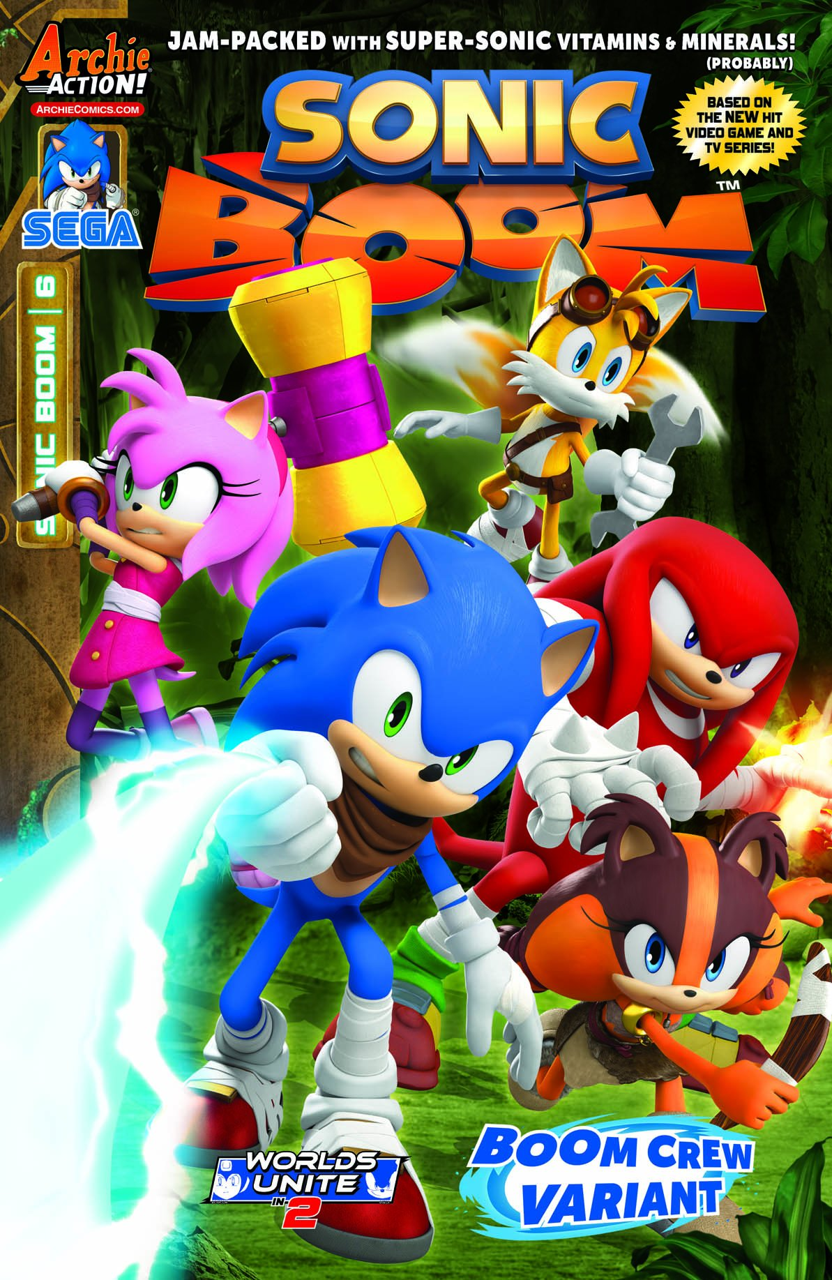 Sonic Boom 006 (May 2015) (Boom Crew variant)
