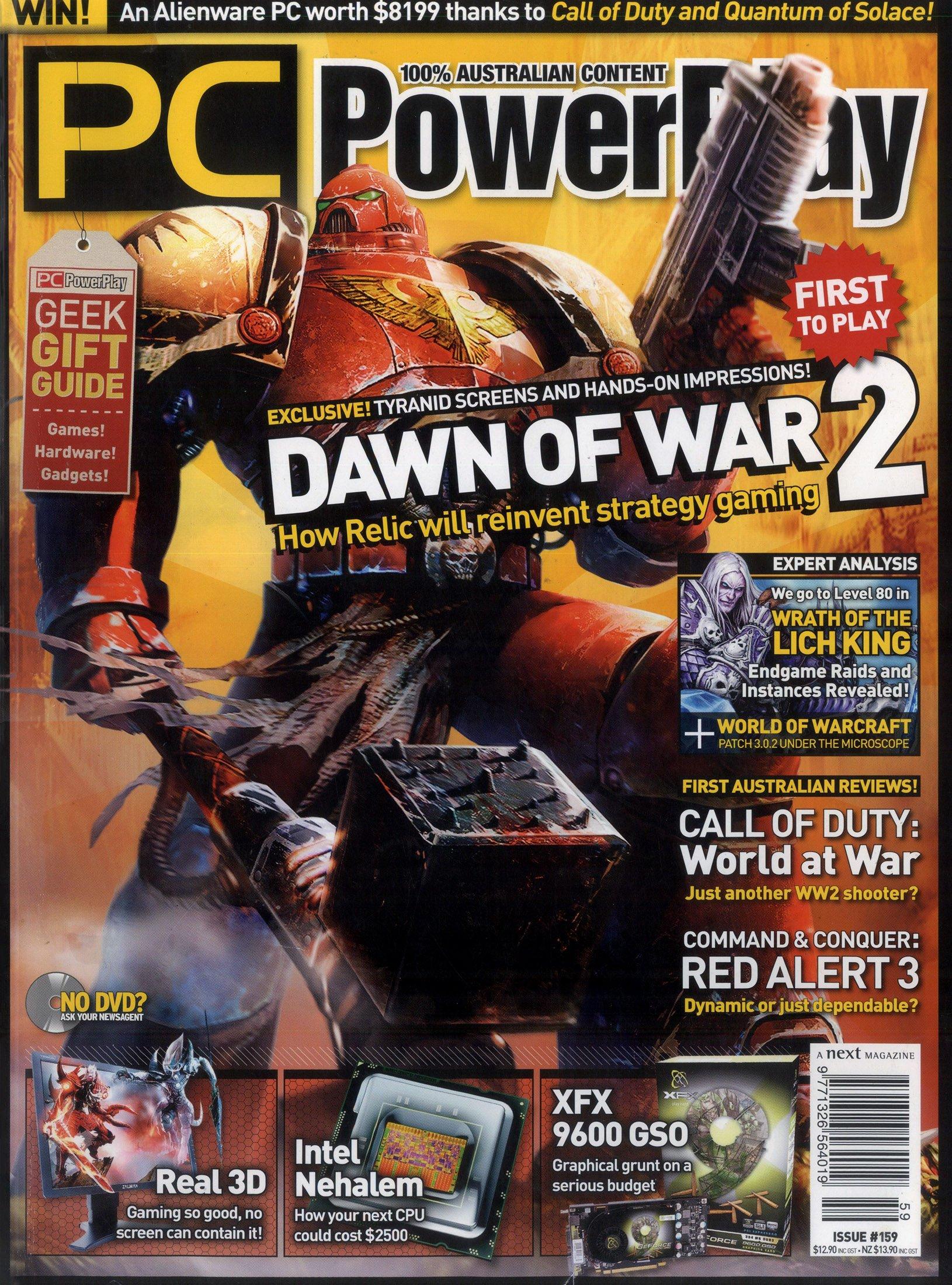 PC PowerPlay 159 (Christmas 2008)