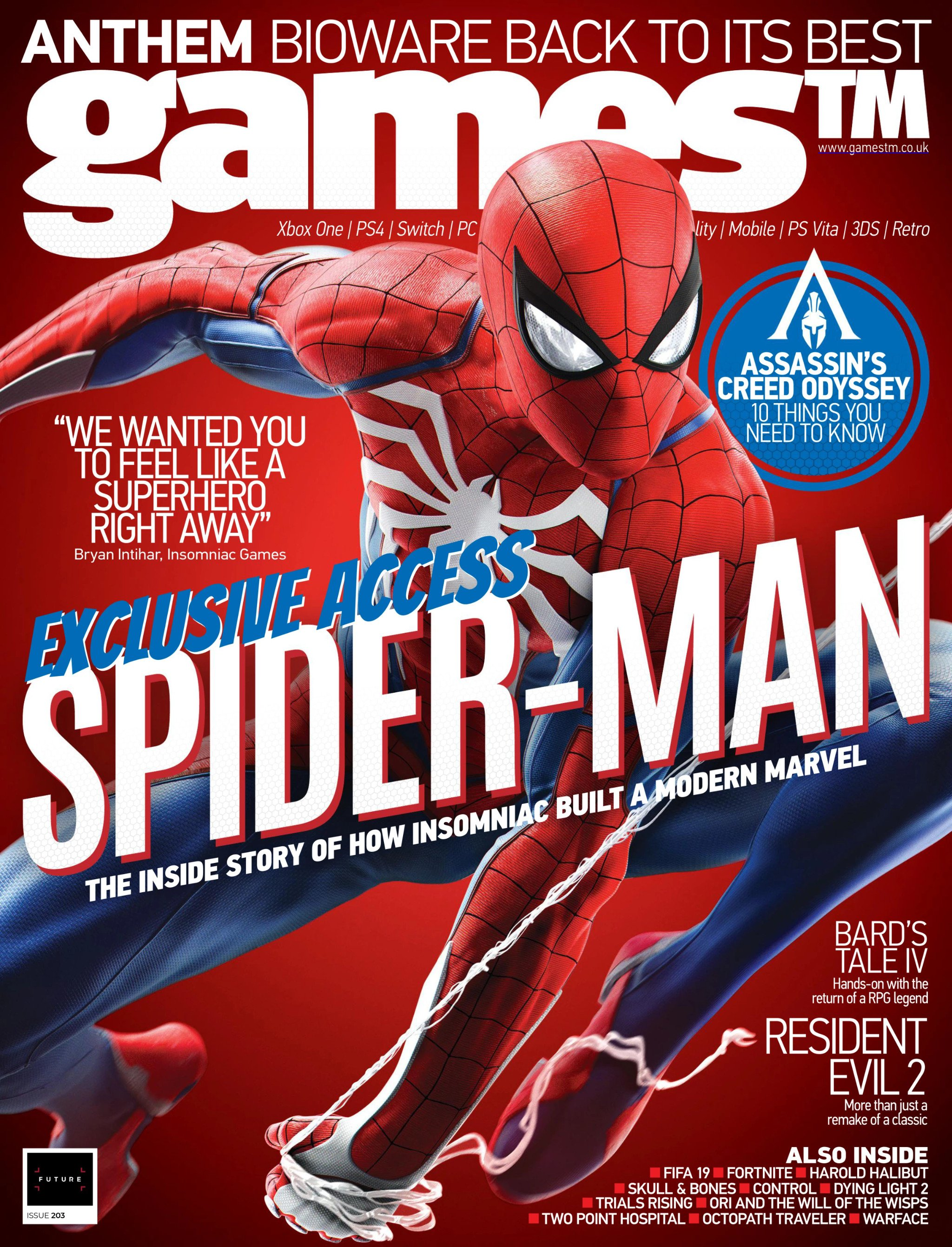 Games TM Issue 203 (August 2018)