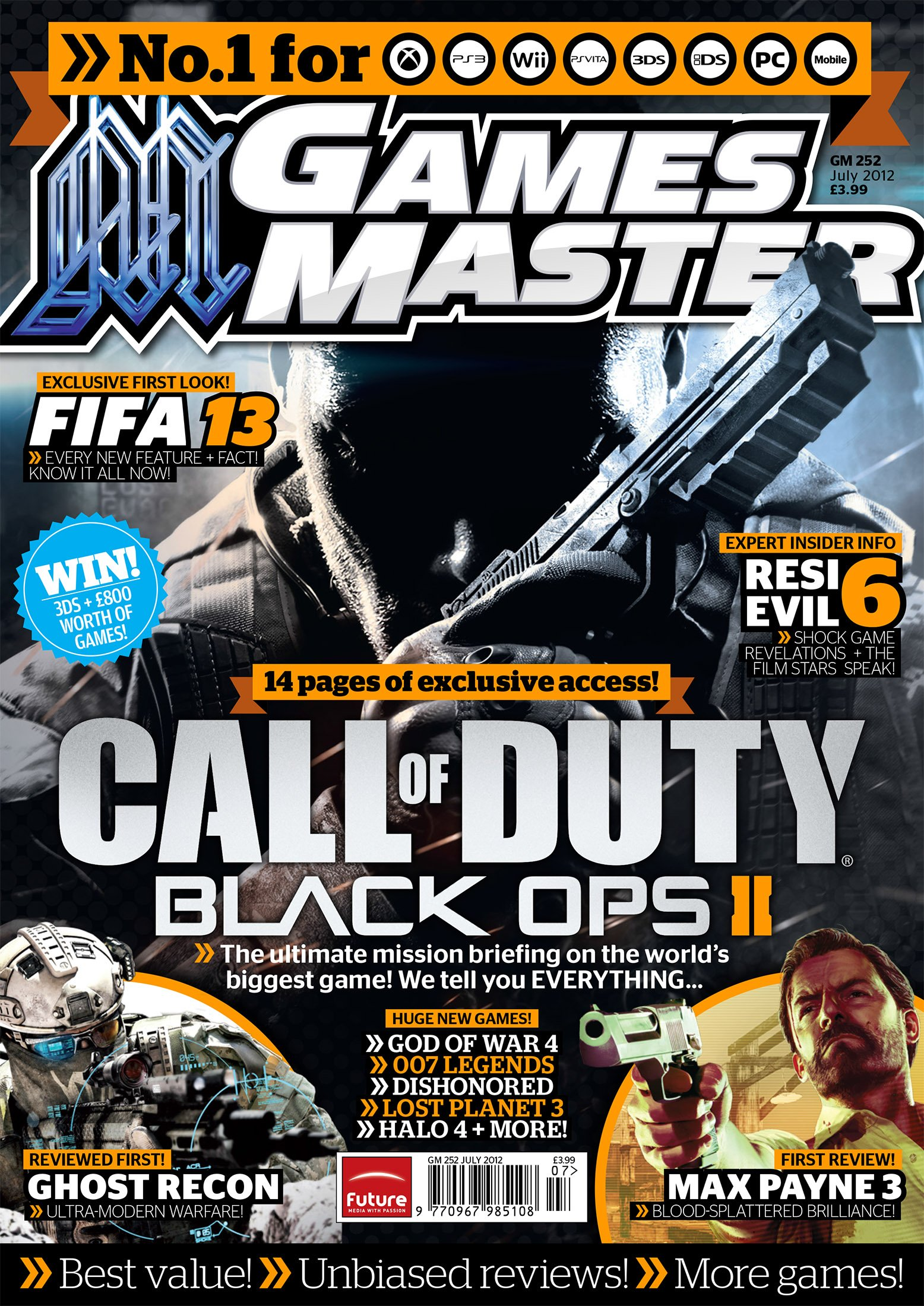 GamesMaster Issue 252 (July 2012)