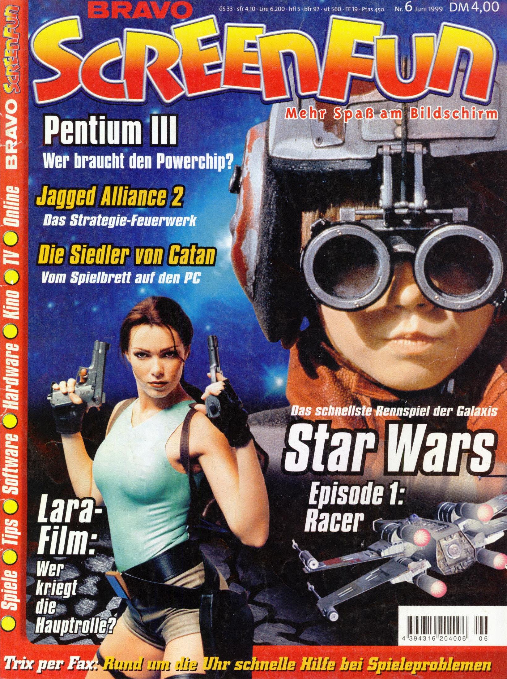 Bravo ScreenFun June 1999