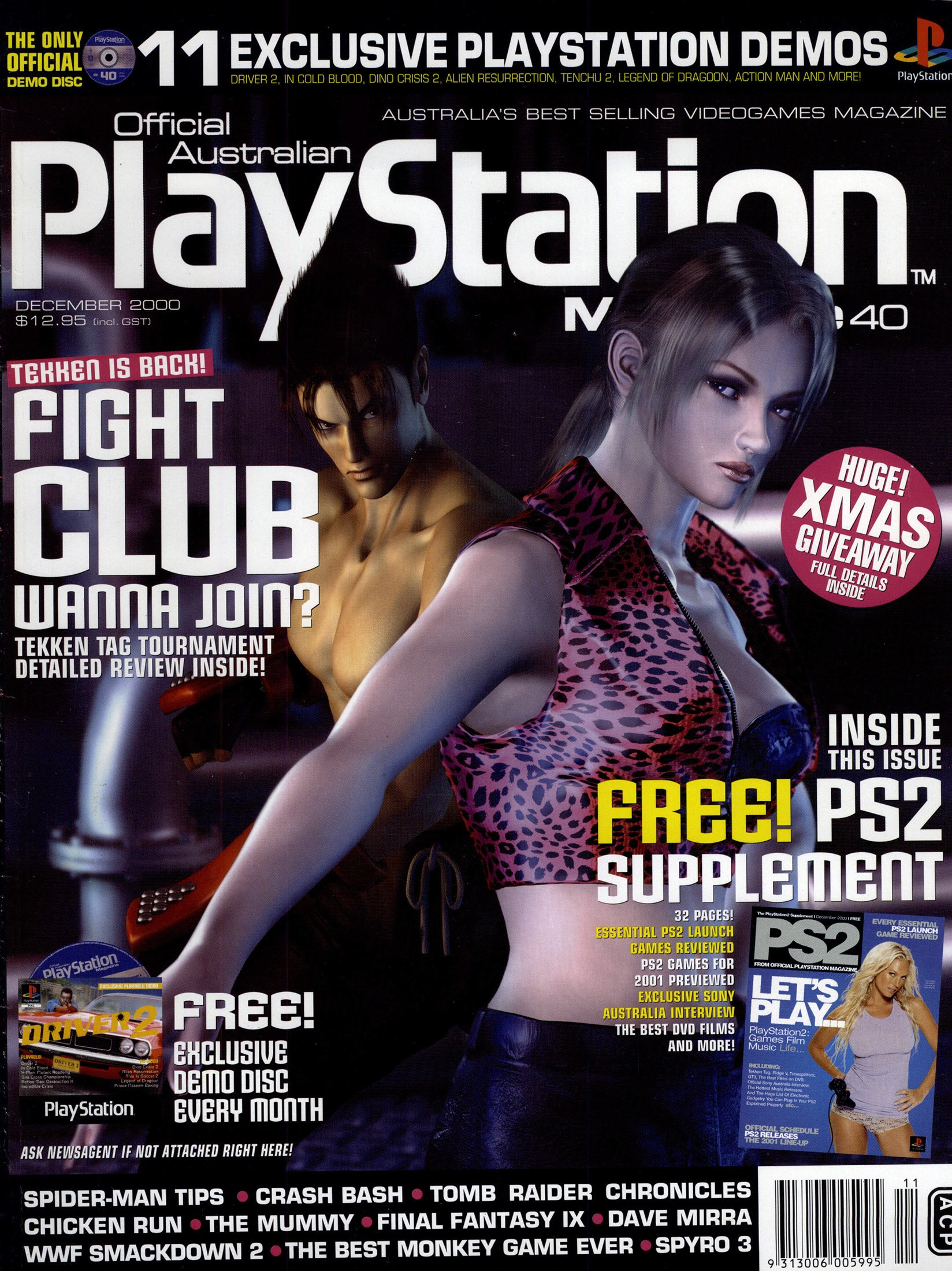 Official Australian PlayStation Magazine 040 (December 2000)