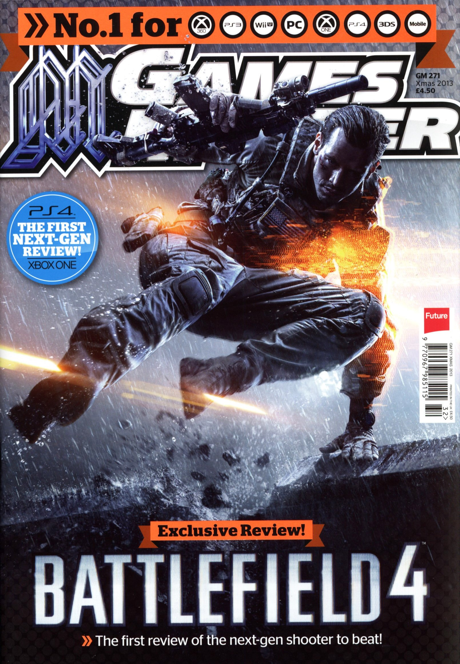 GamesMaster Issue 271 (Xmas 2013) (print edition)