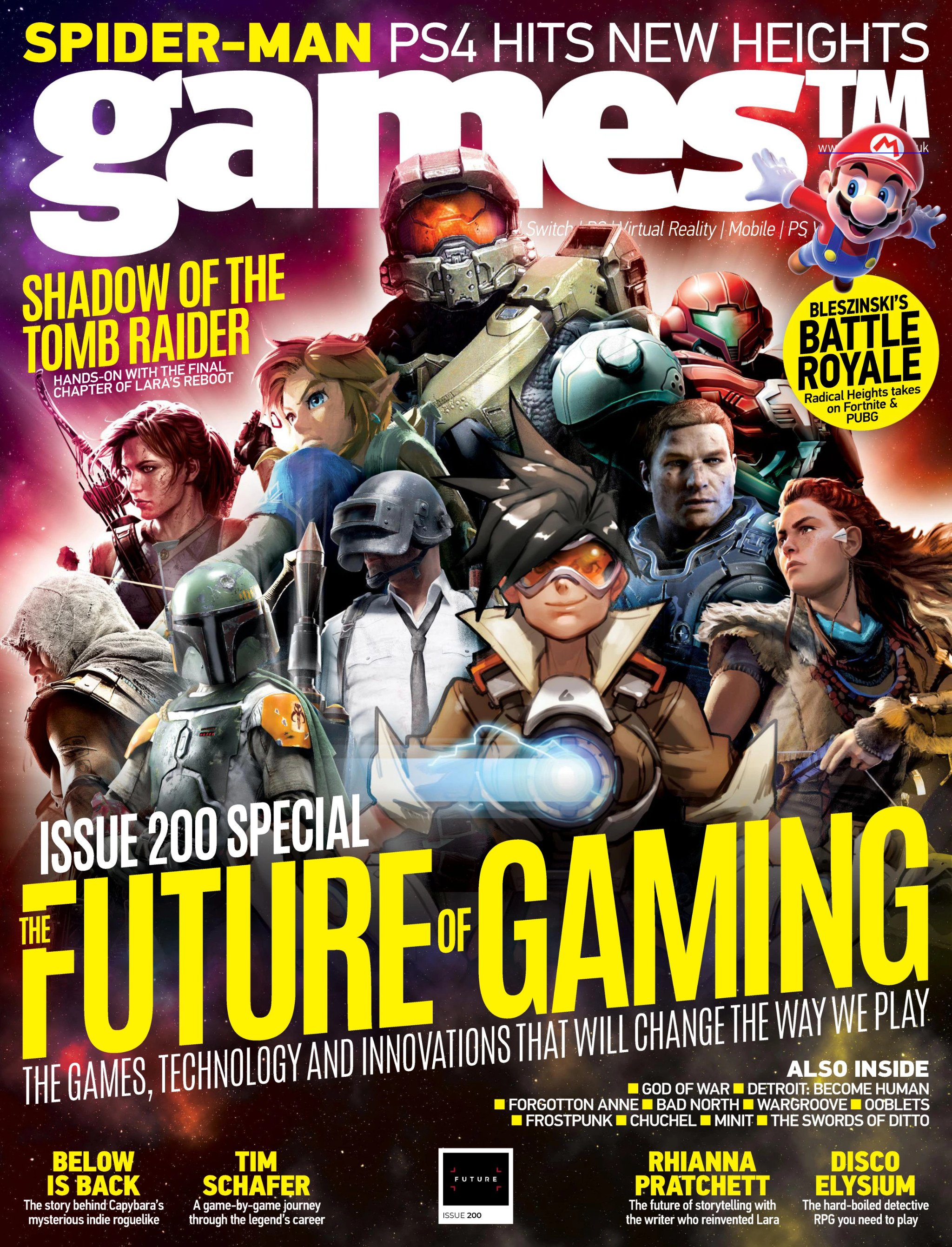 Games TM Issue 200 (May 2018)