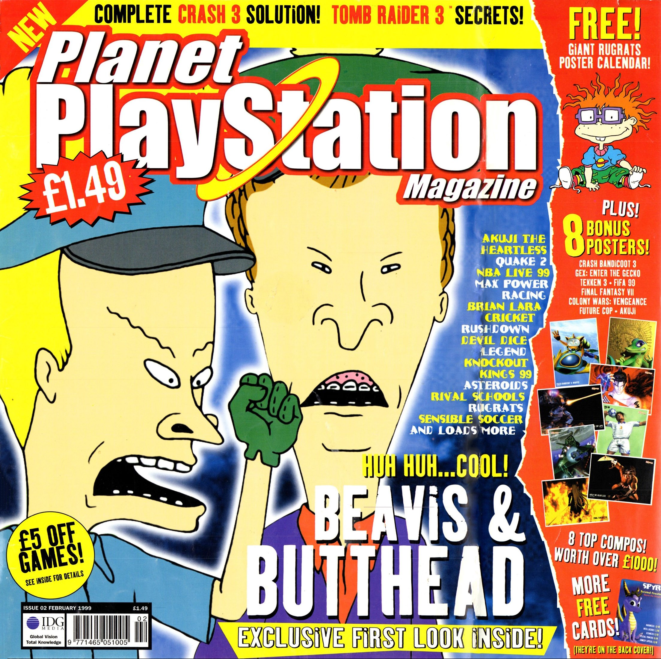 Planet PlayStation Issue 02 (February 1999)