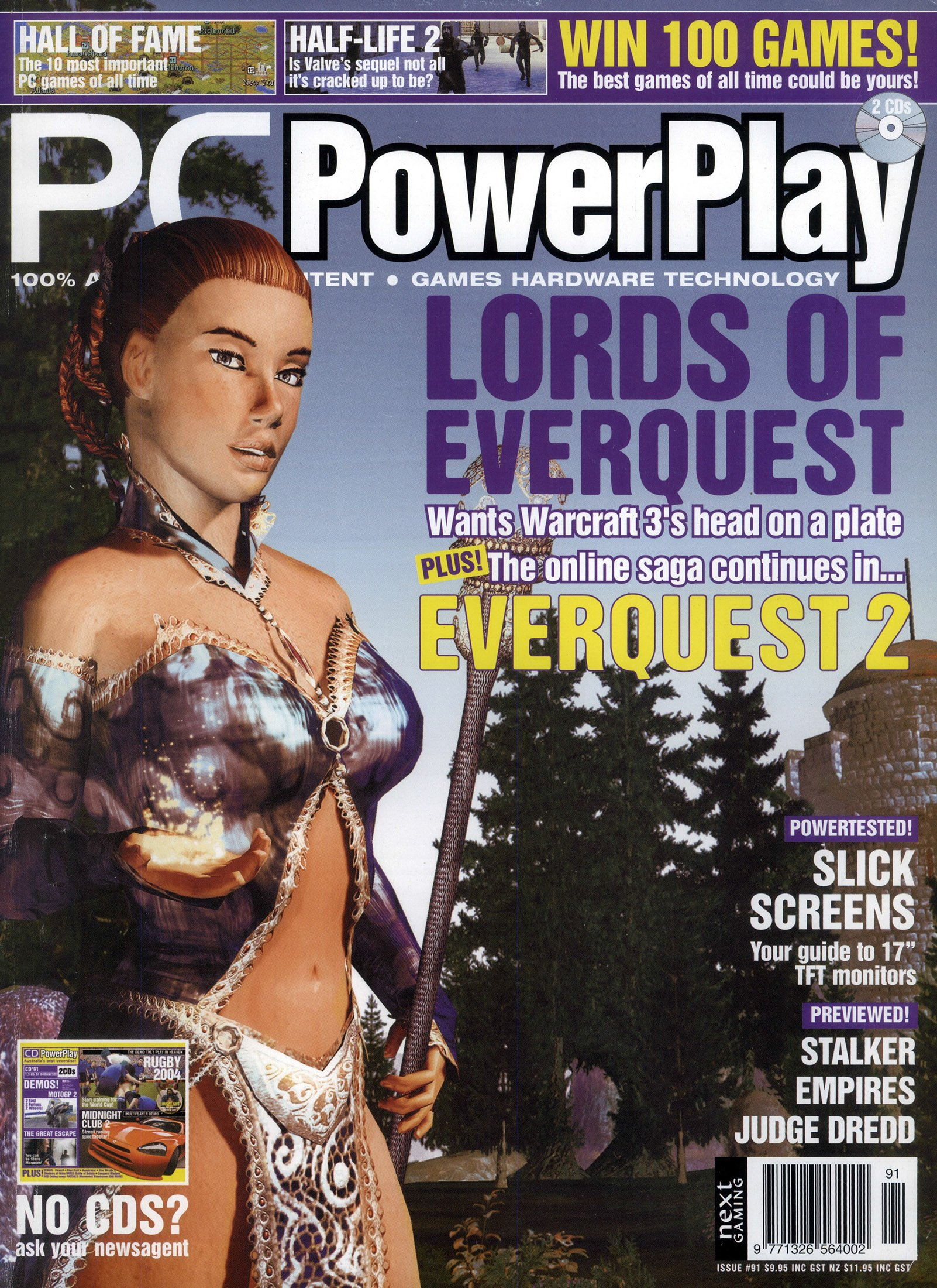 PC PowerPlay 091 (October 2003) (cover 2)