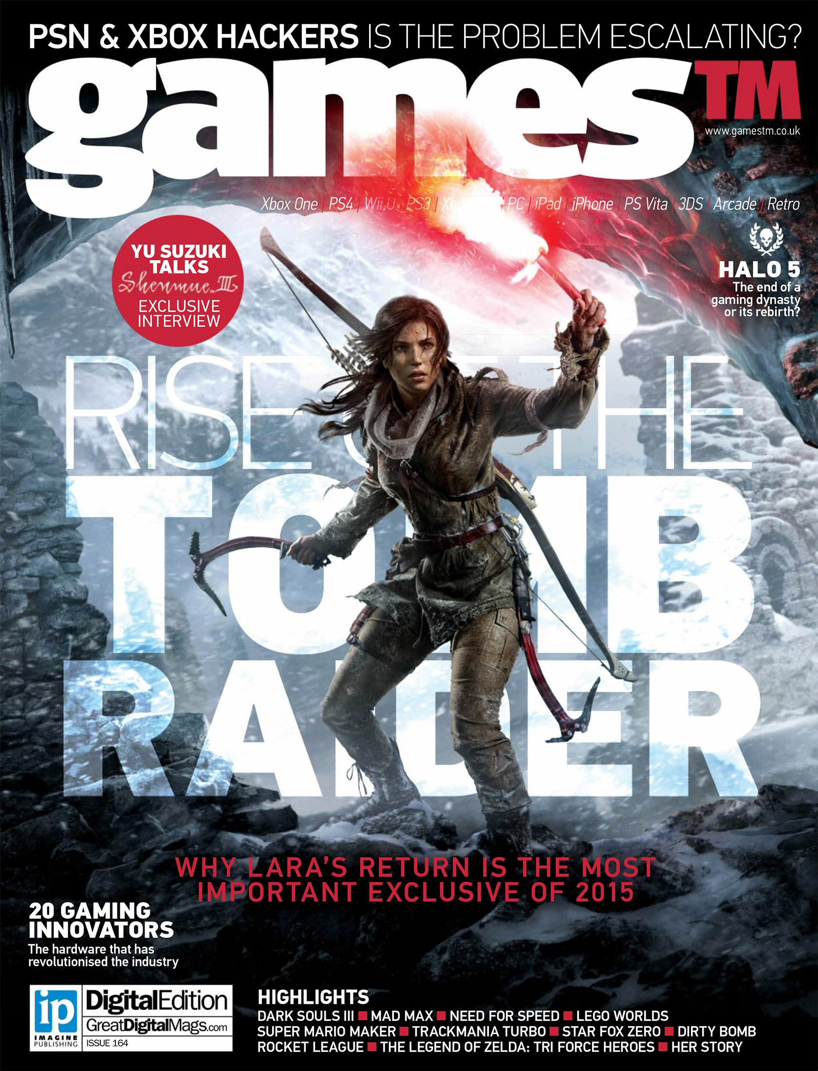 Games TM Issue 164 (August 2015)