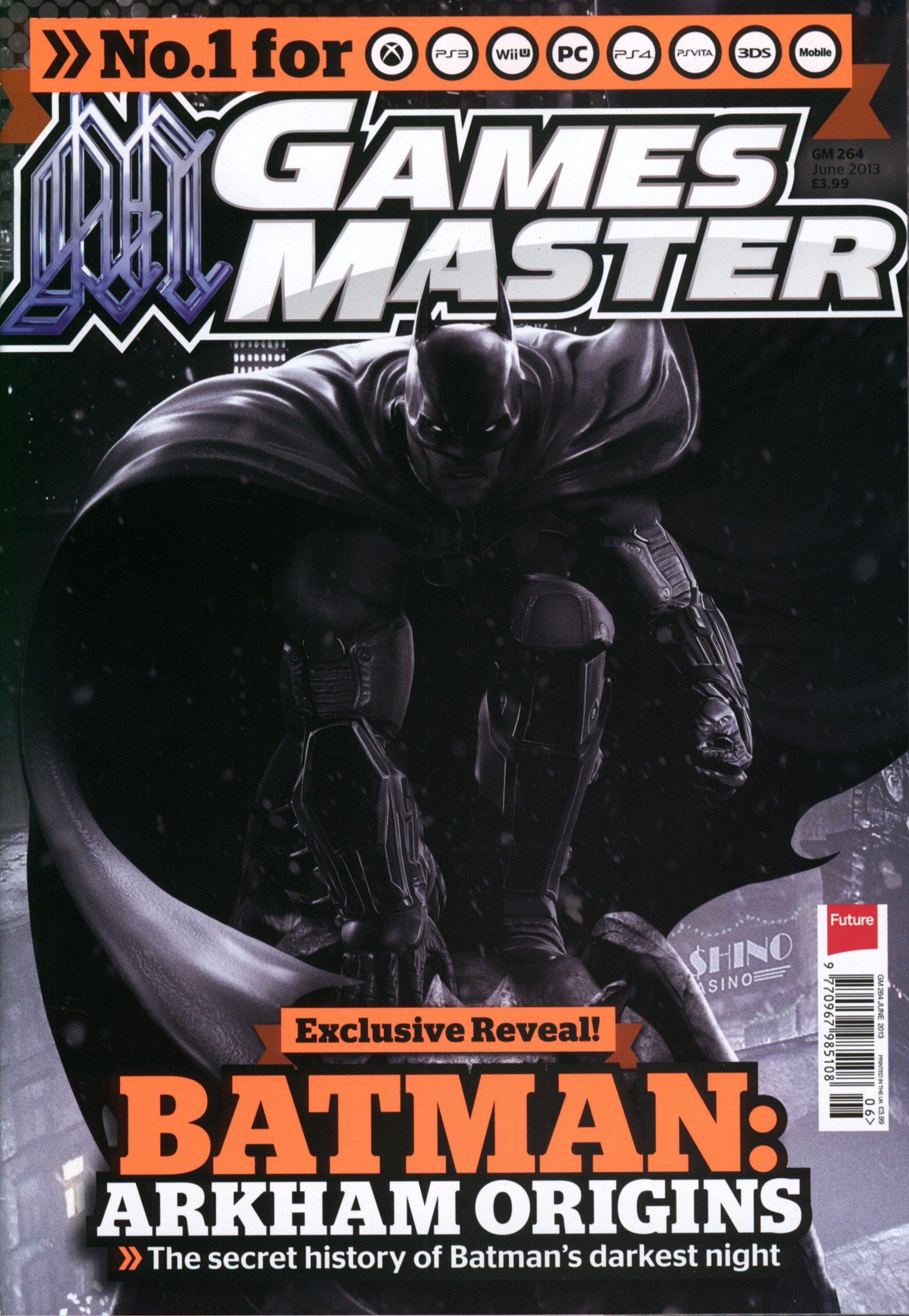 GamesMaster Issue 264 (June 2013) (print edition)