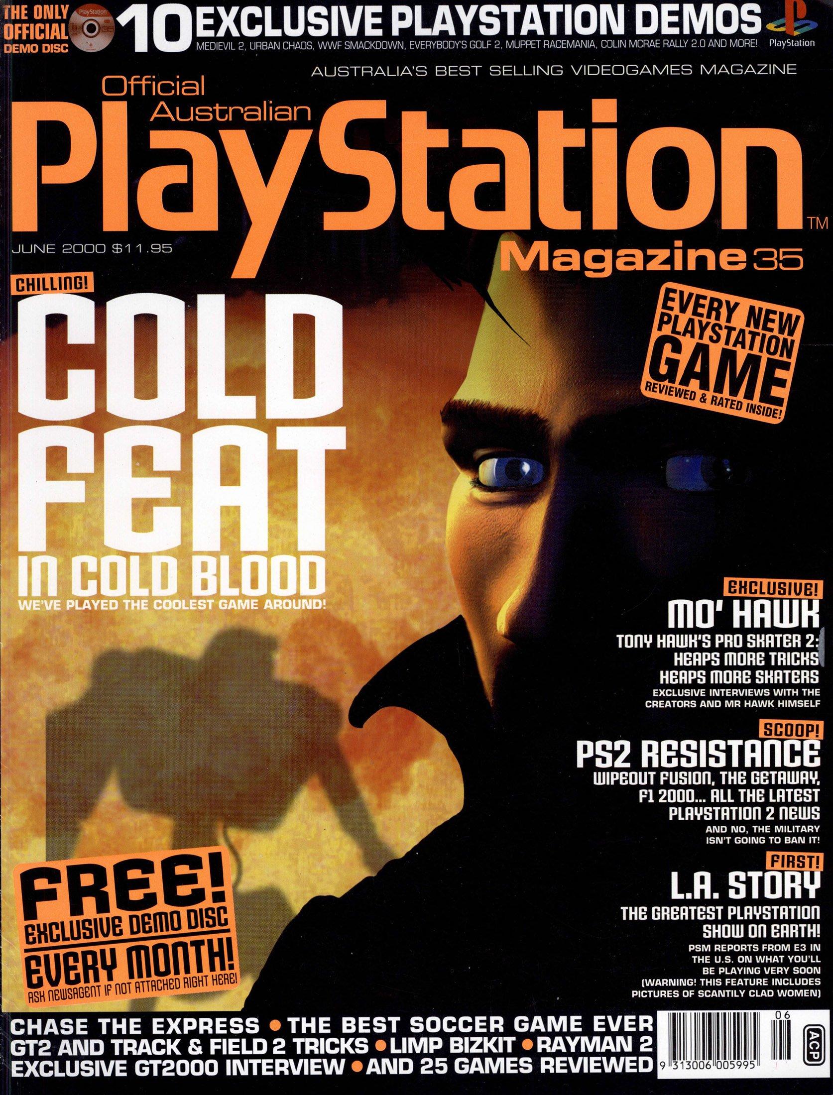 Official Australian PlayStation Magazine 035 (June 2000)