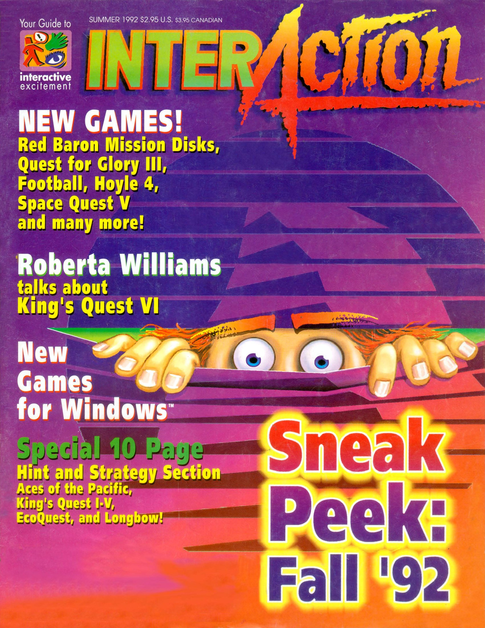 InterAction Issue 14 (Volume 5 Number 2) Summer 1992