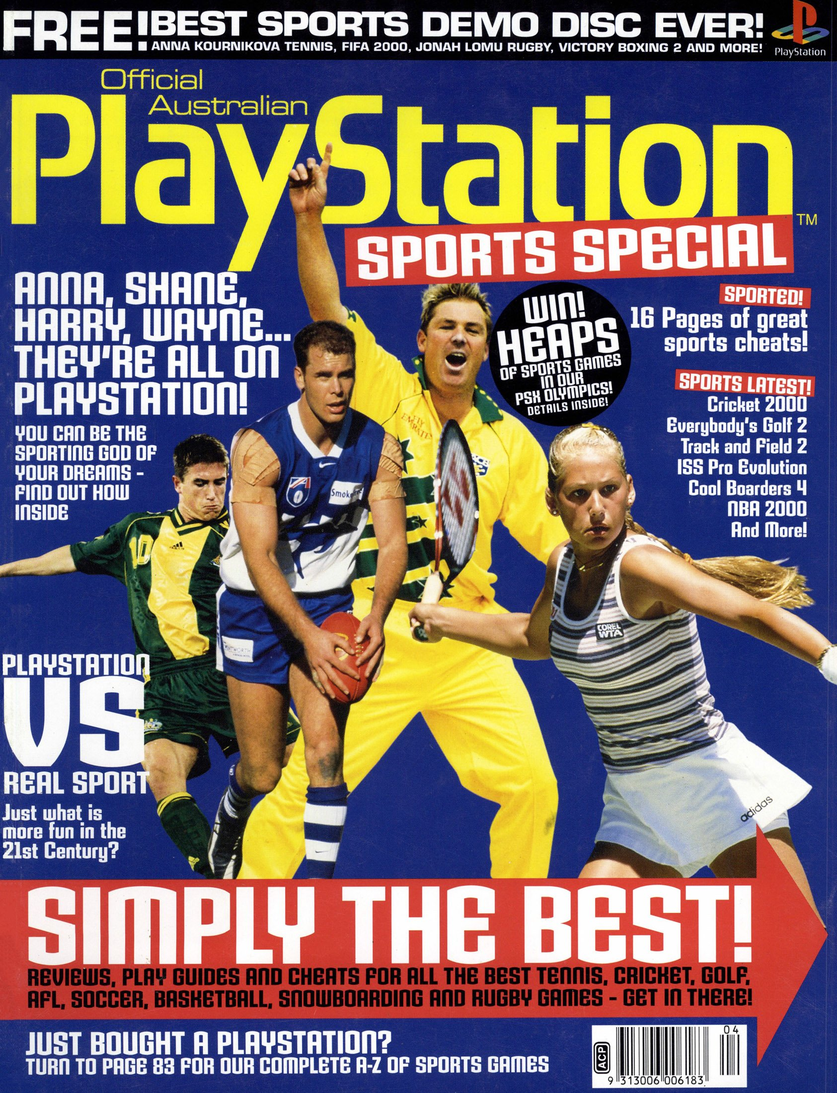 Official Australian PlayStation Magazine Sports Special (March 2000)