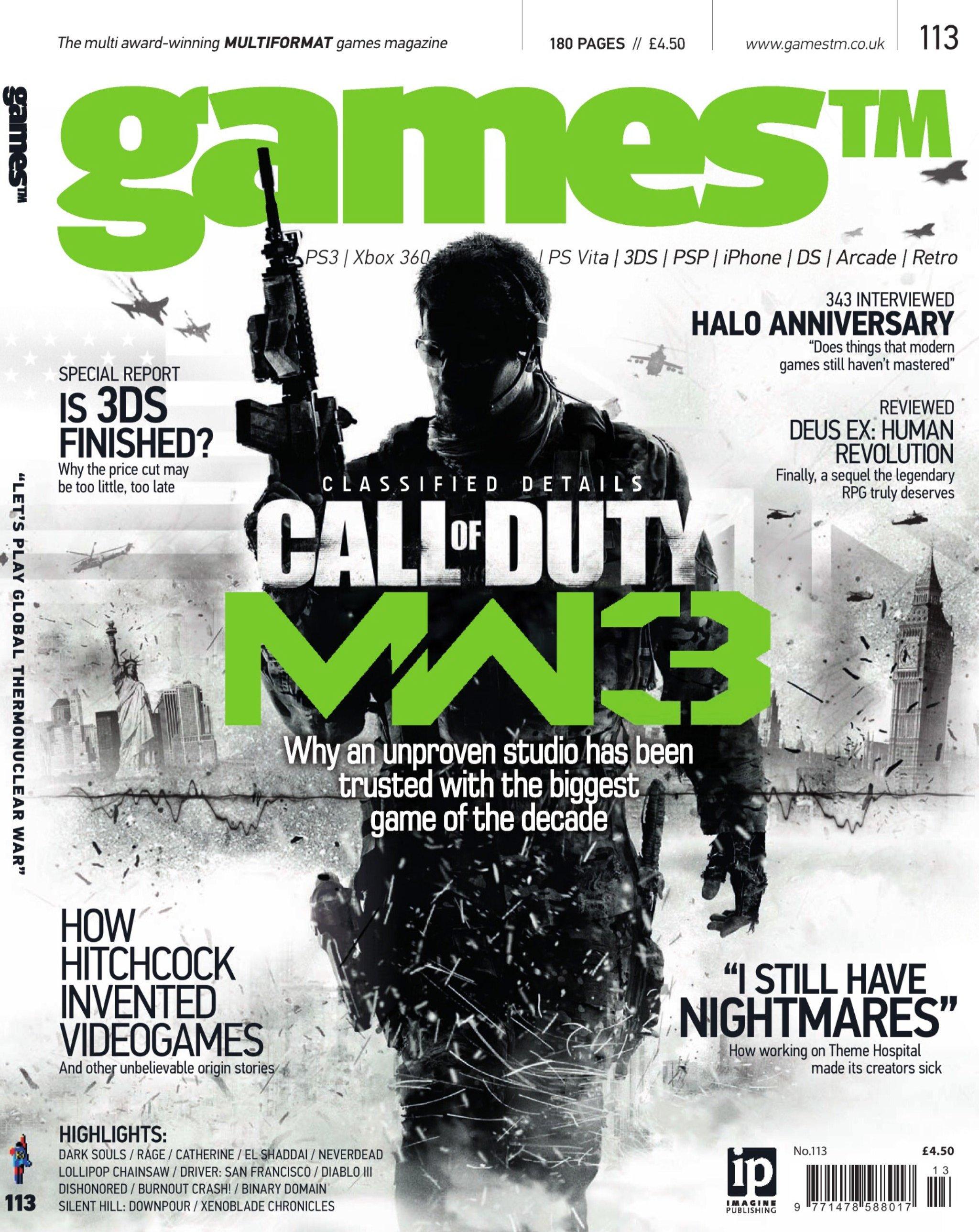 Games TM Issue 113 (September 2011)