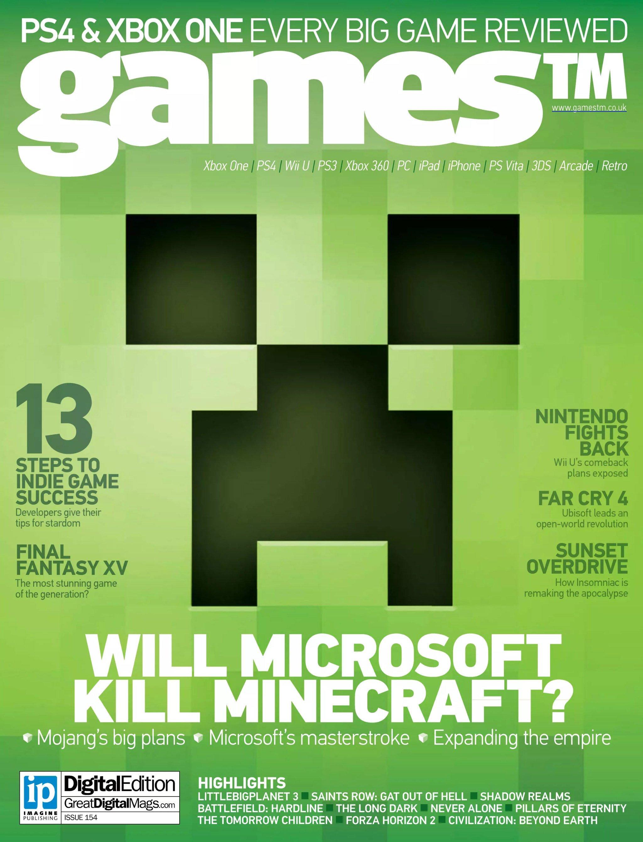 Games TM Issue 154 (November 2014)