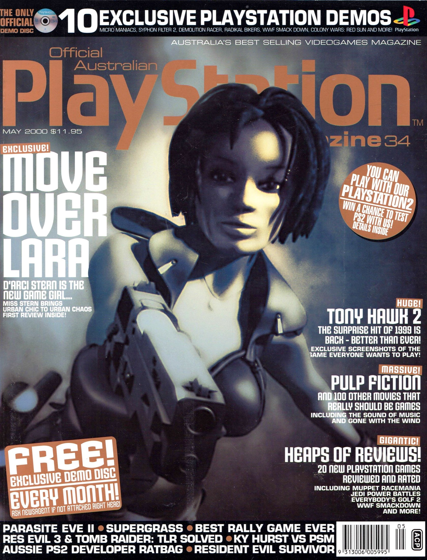 Official Australian PlayStation Magazine 034 (May 2000)
