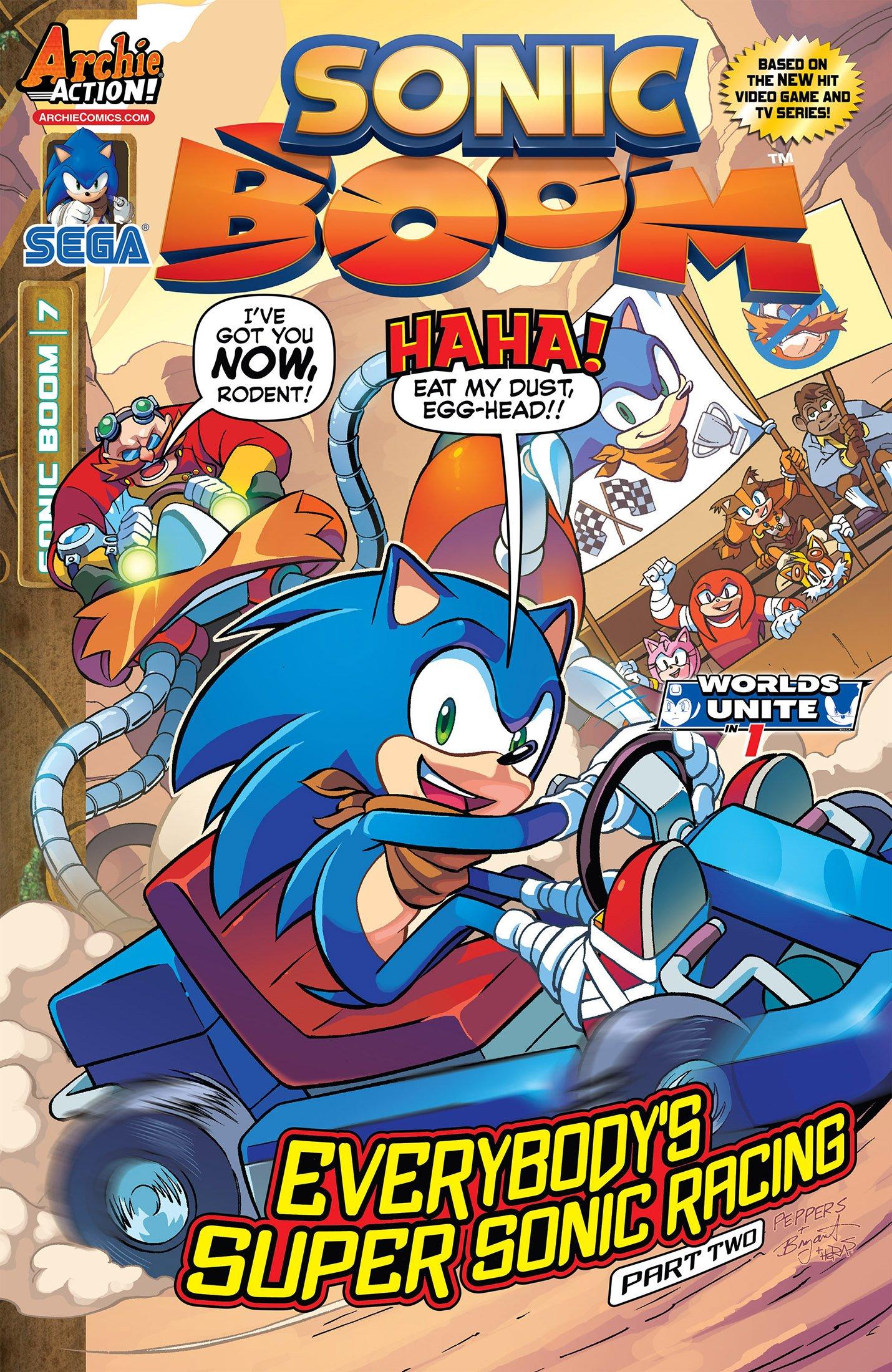 Sonic Boom 007 (June 2015)
